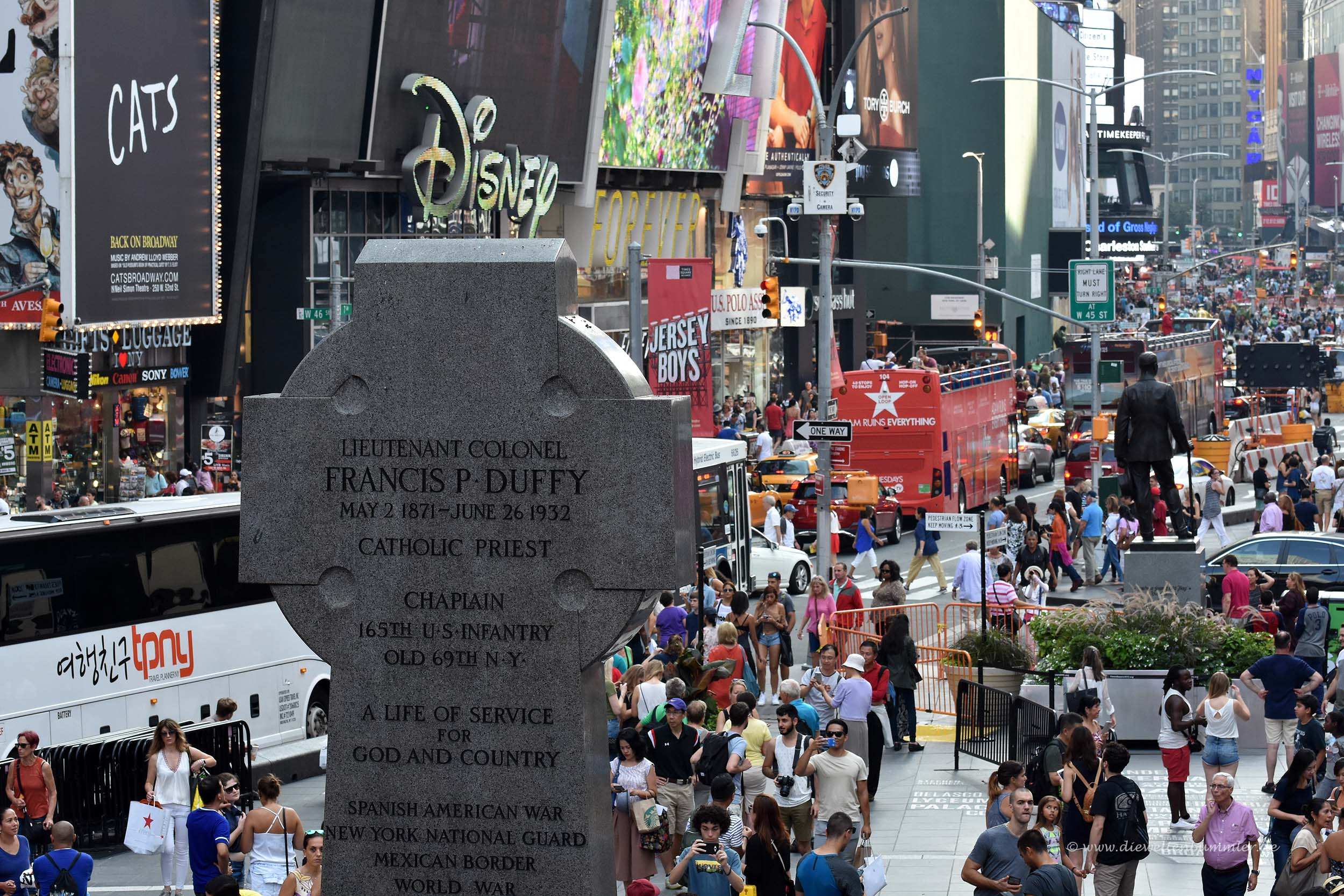 Denkmal am Duffy Square