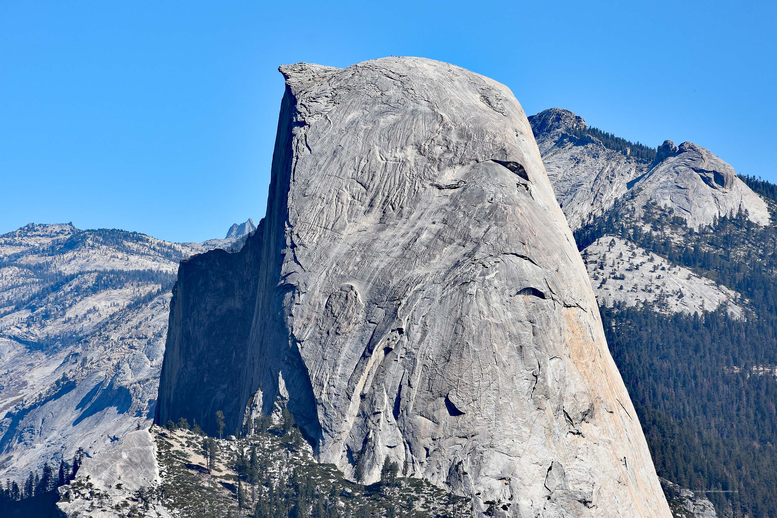Der Half Dome im Yosemite-Nationalpark