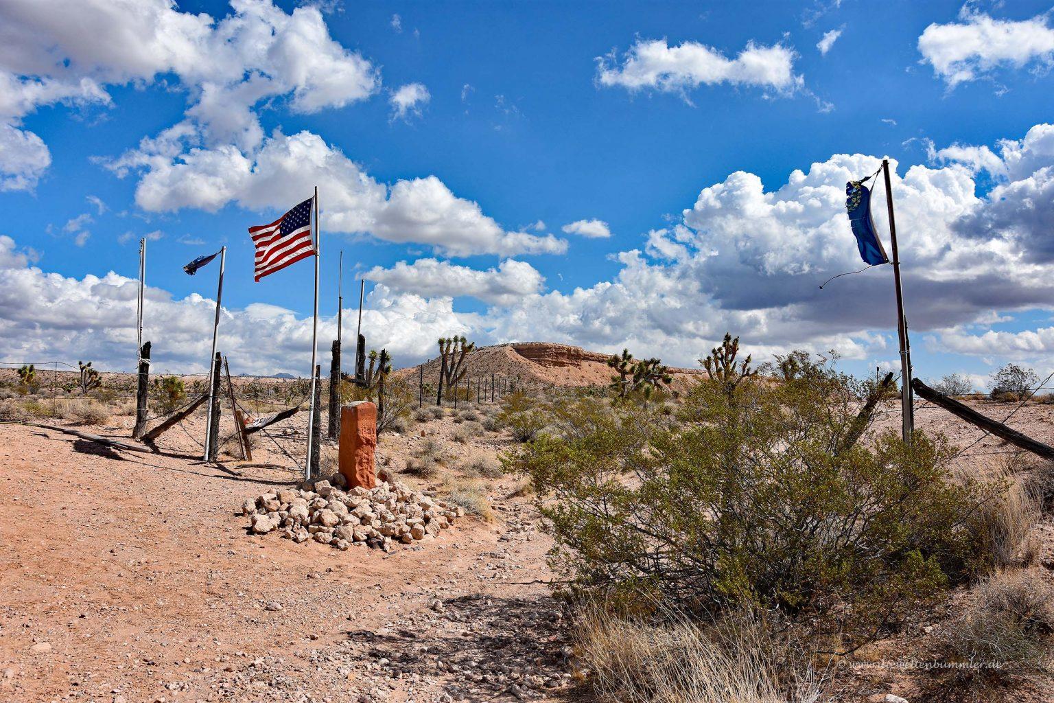 Dreiländereck von Nevada Utah und Arizona