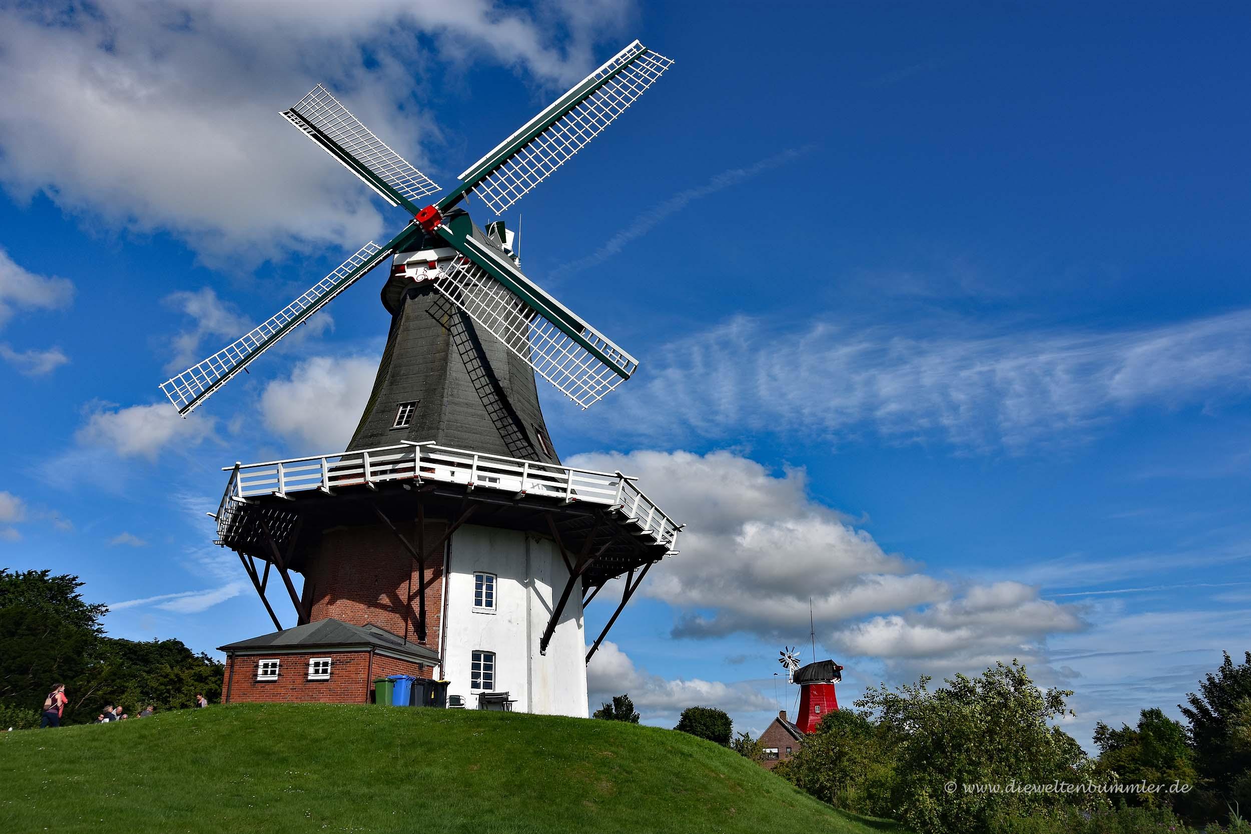 Zwillingswindmühlen