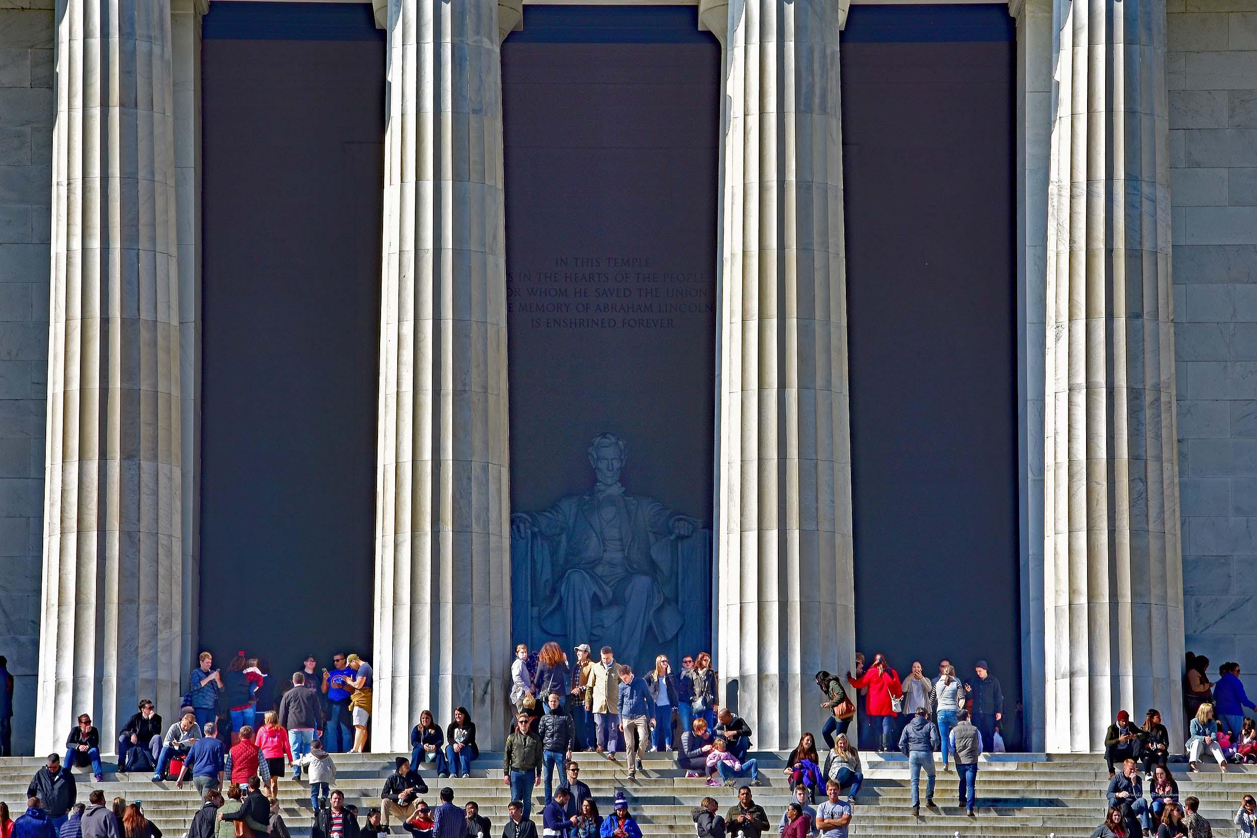 Abraham Lincoln hat den Überblick