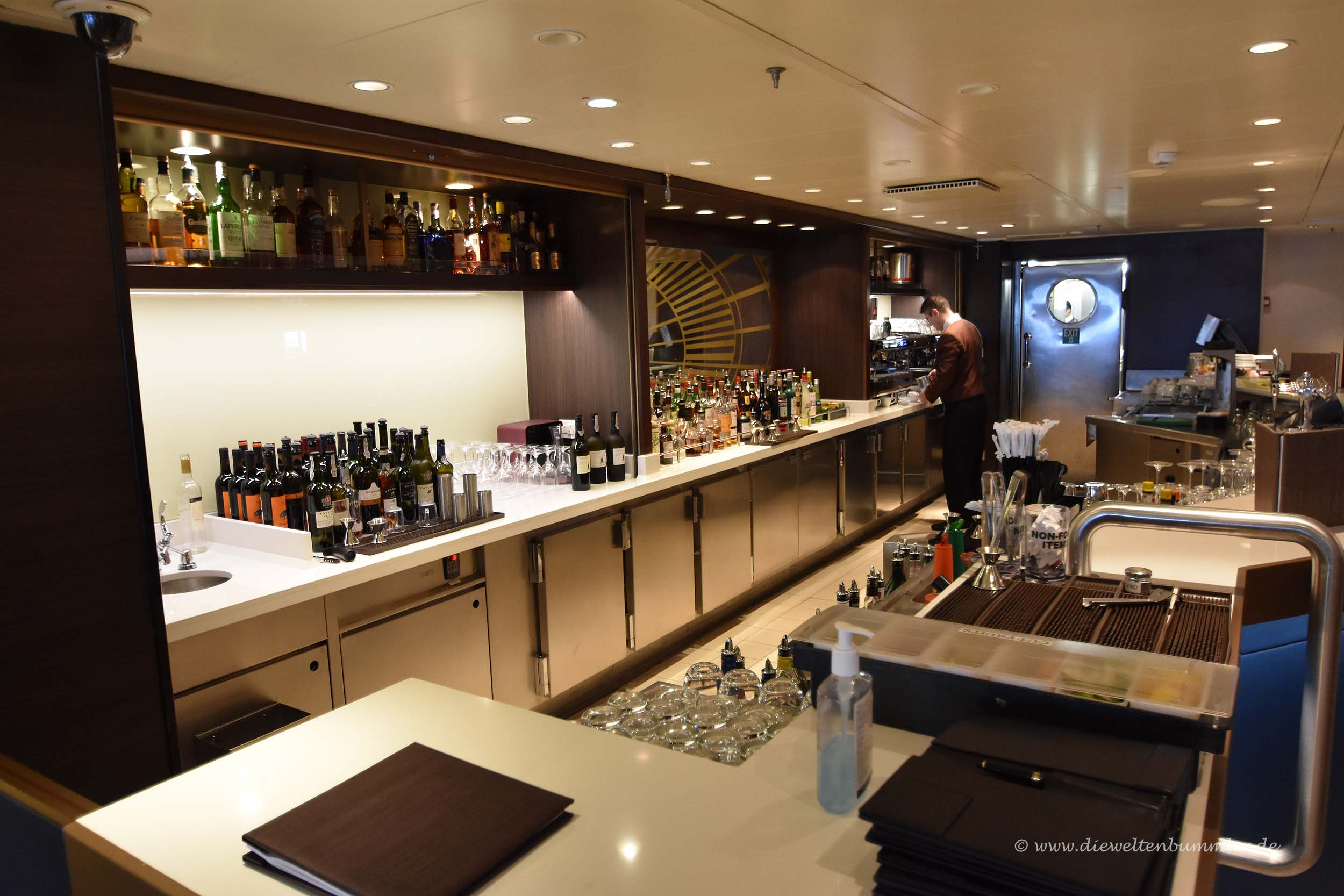 Bar in der Carinthia Lounge