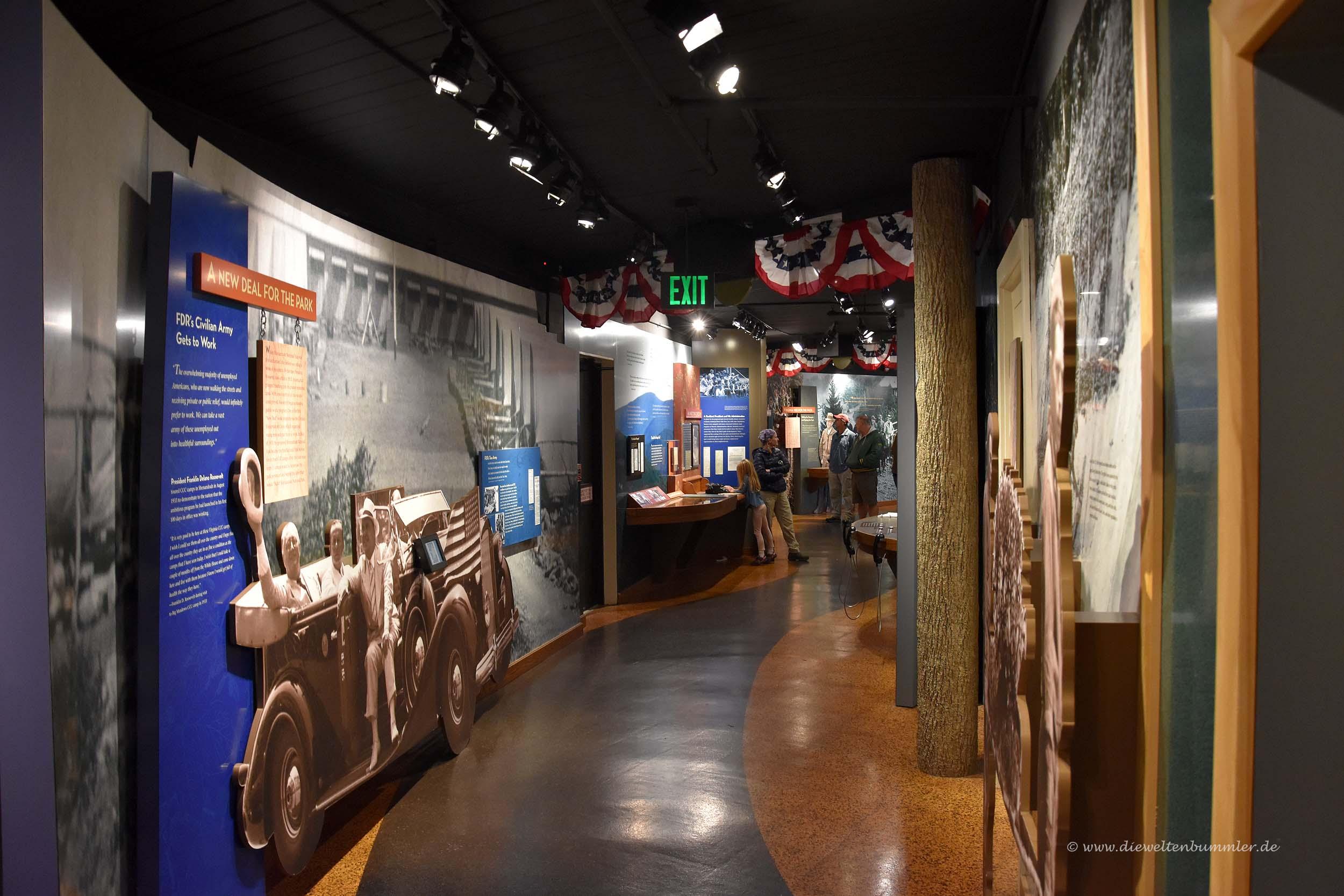 Besucherzentrum mit Museum
