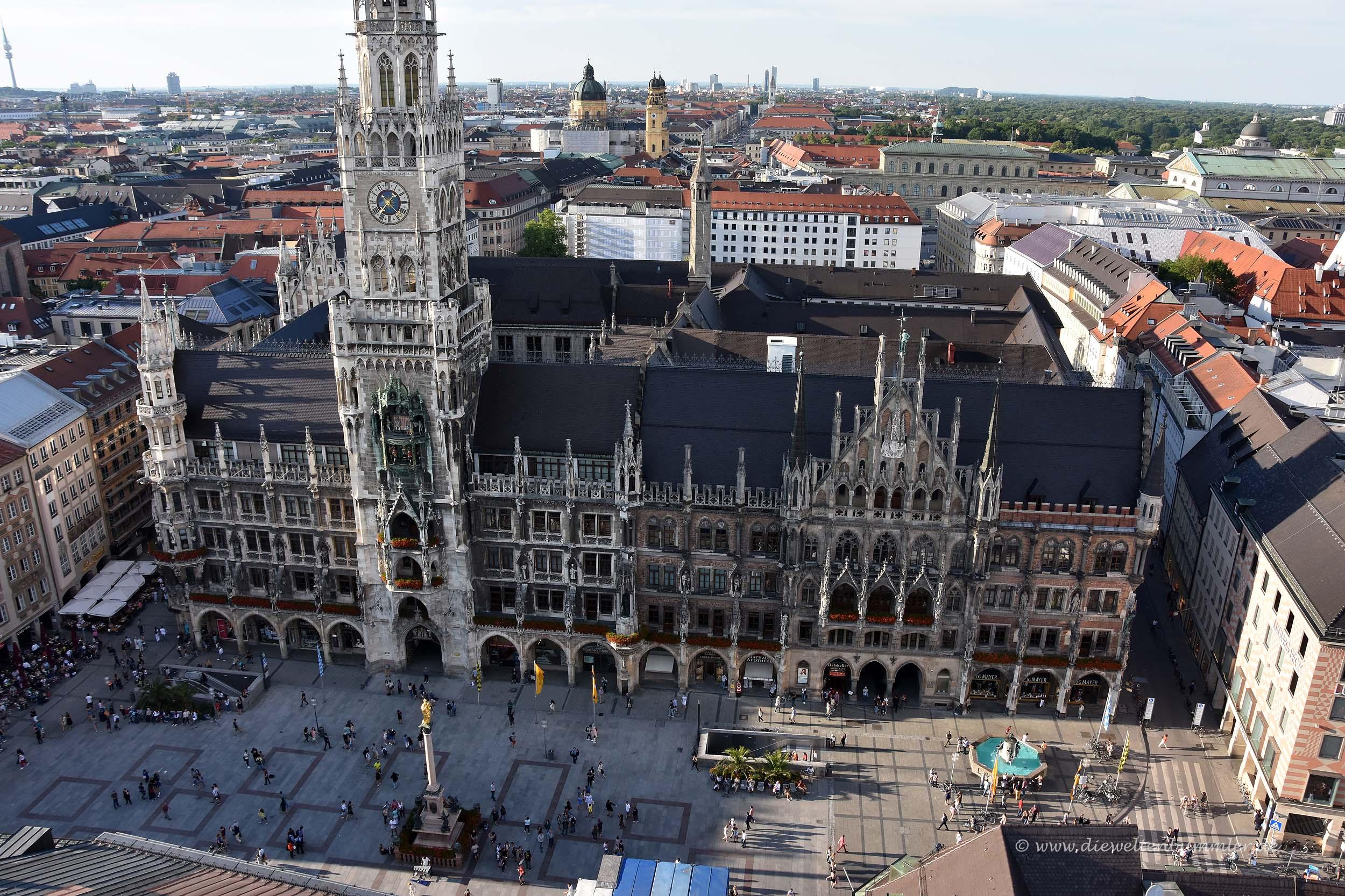 Blick vom Turm der Peterskirche