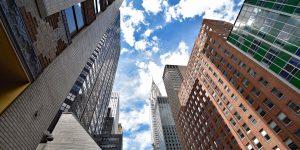Chrysler Building mit Spitze