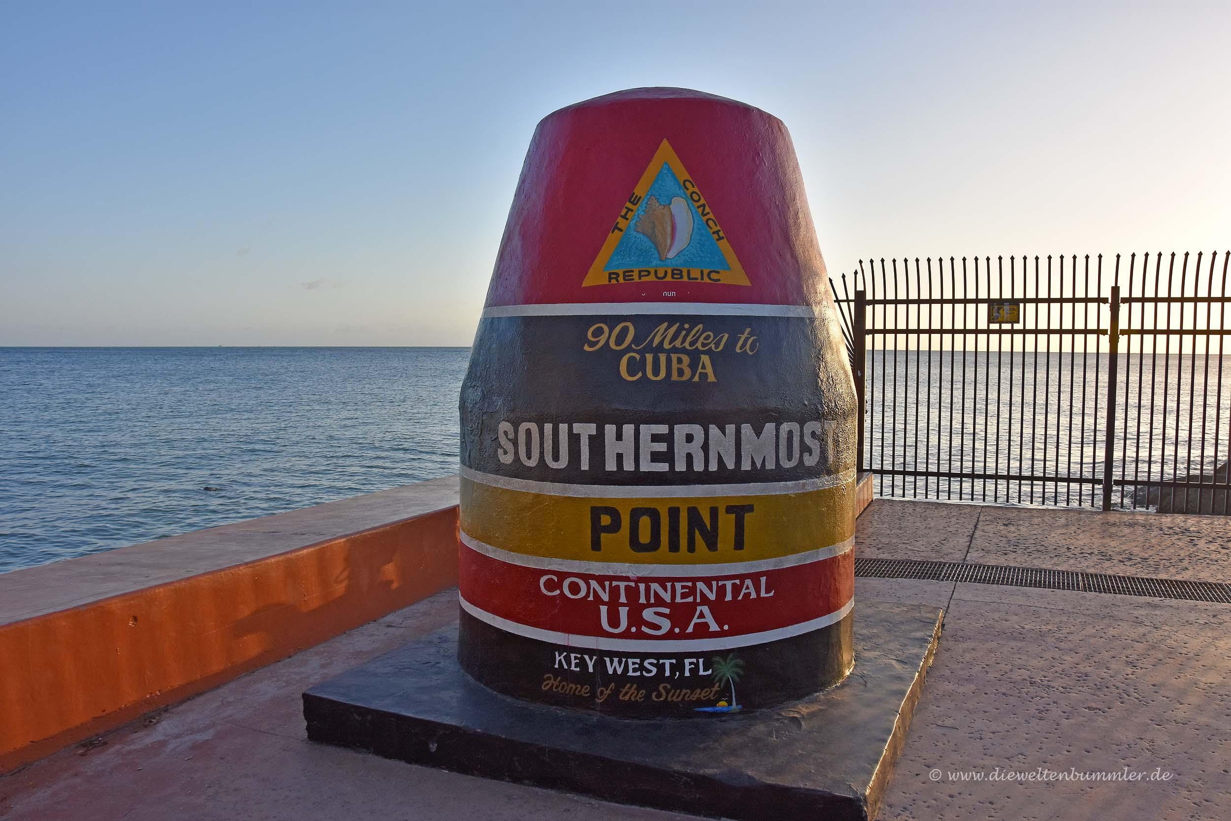 Der südlichste Punkt der USA