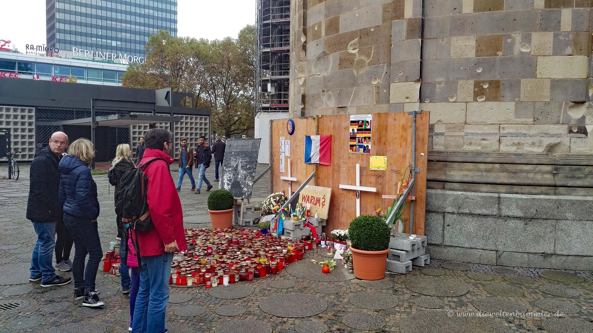Erinnerung am Breitscheidplatz
