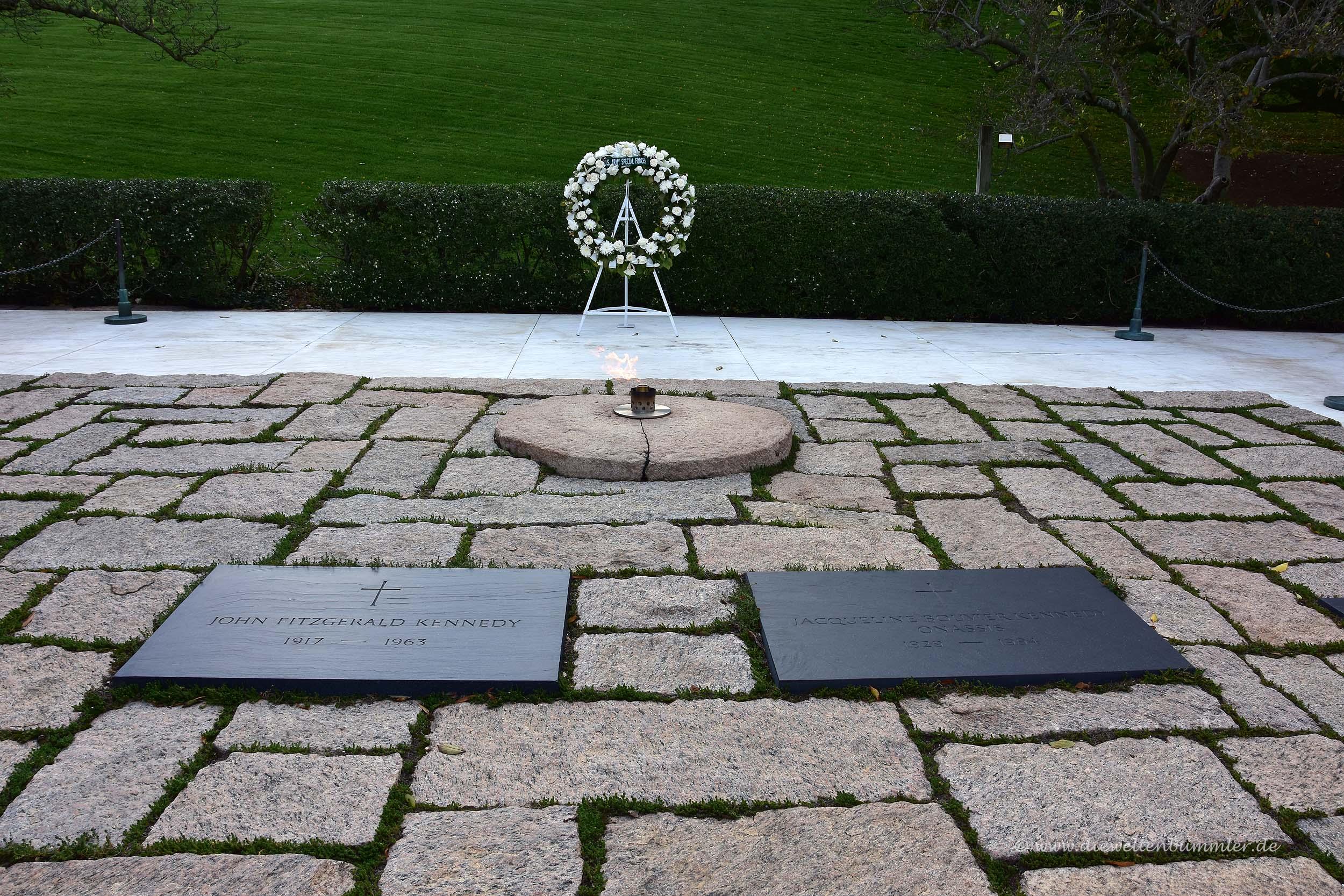 Grabstätte von John F Kennedy