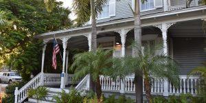 Hübsche Holzhäuser in Key West