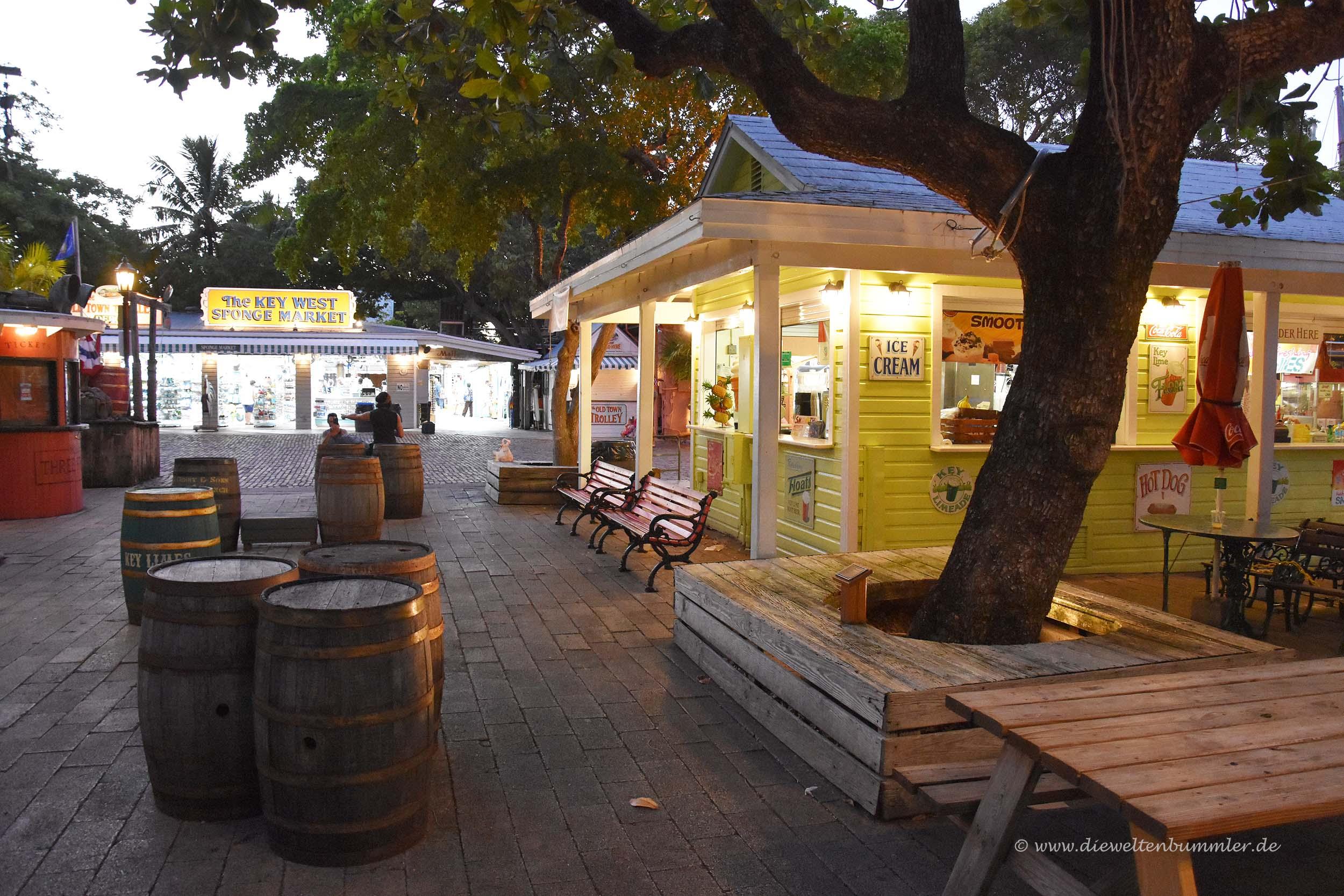 Key West lädt abends zum Flanieren ein