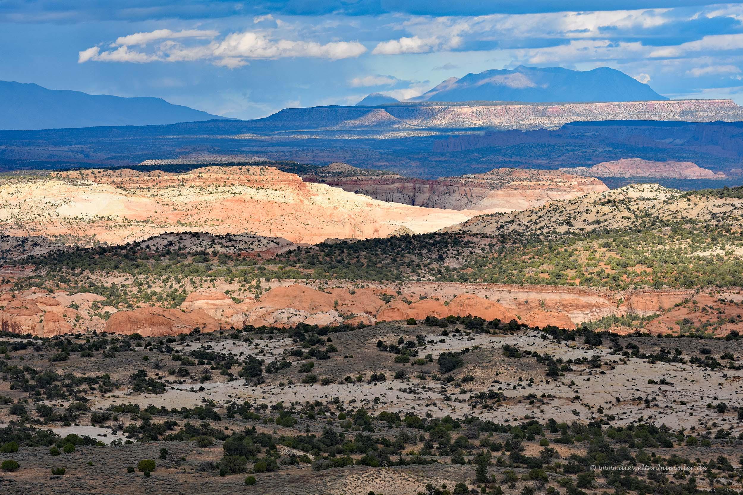Landschaft entlang des Highway 12