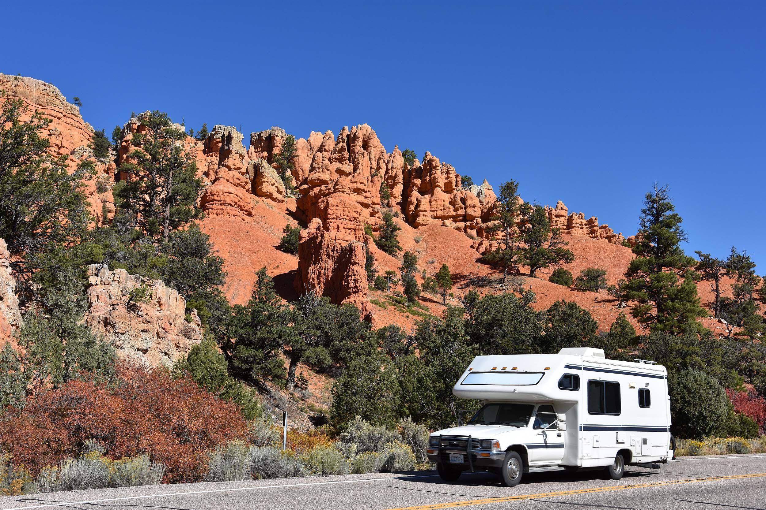 Mit dem Wohnmobil auf dem Highway 12