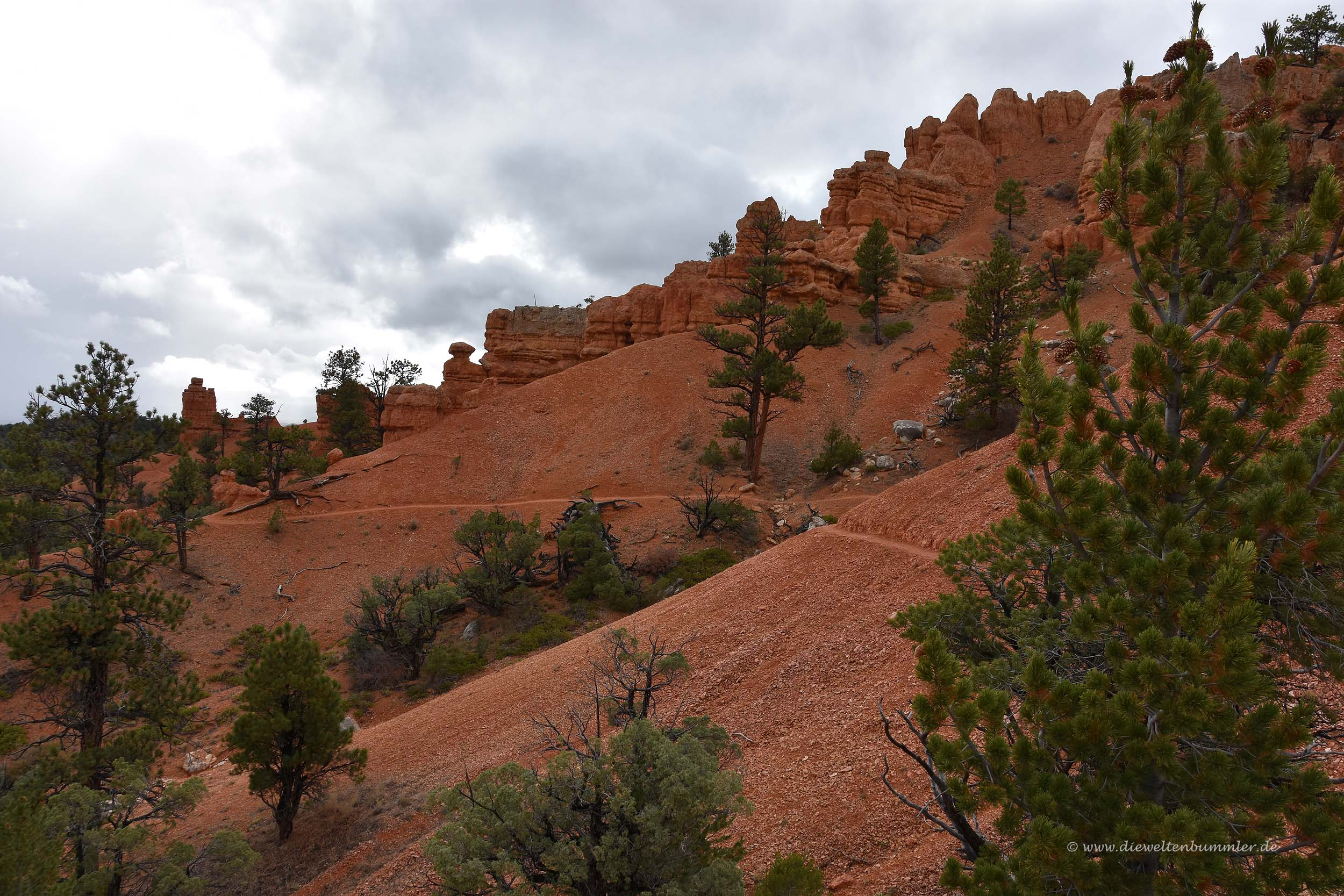 Red Canyon-Wanderweg