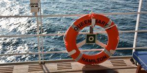 Rettungsring der Queen Mary 2