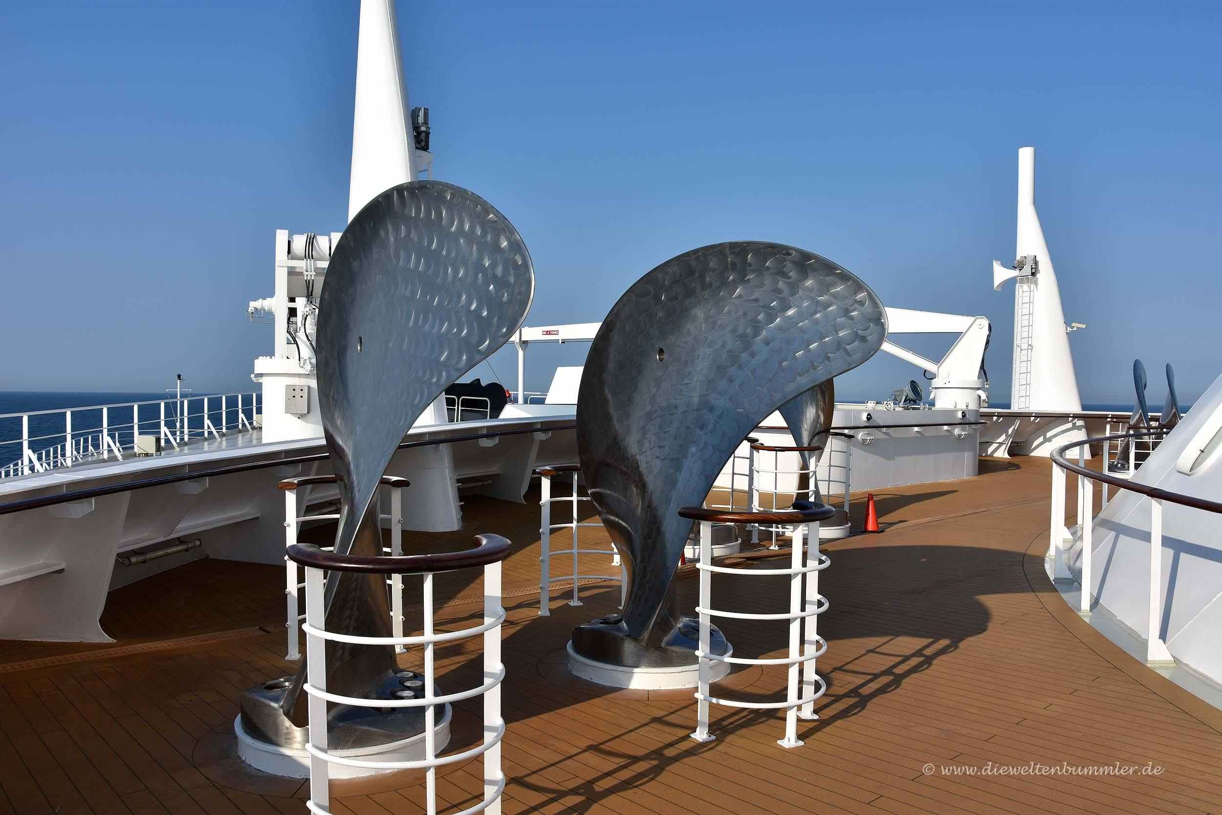 Schiffsschrauben als Kunst