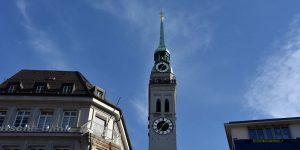 Turm der Peterskirche