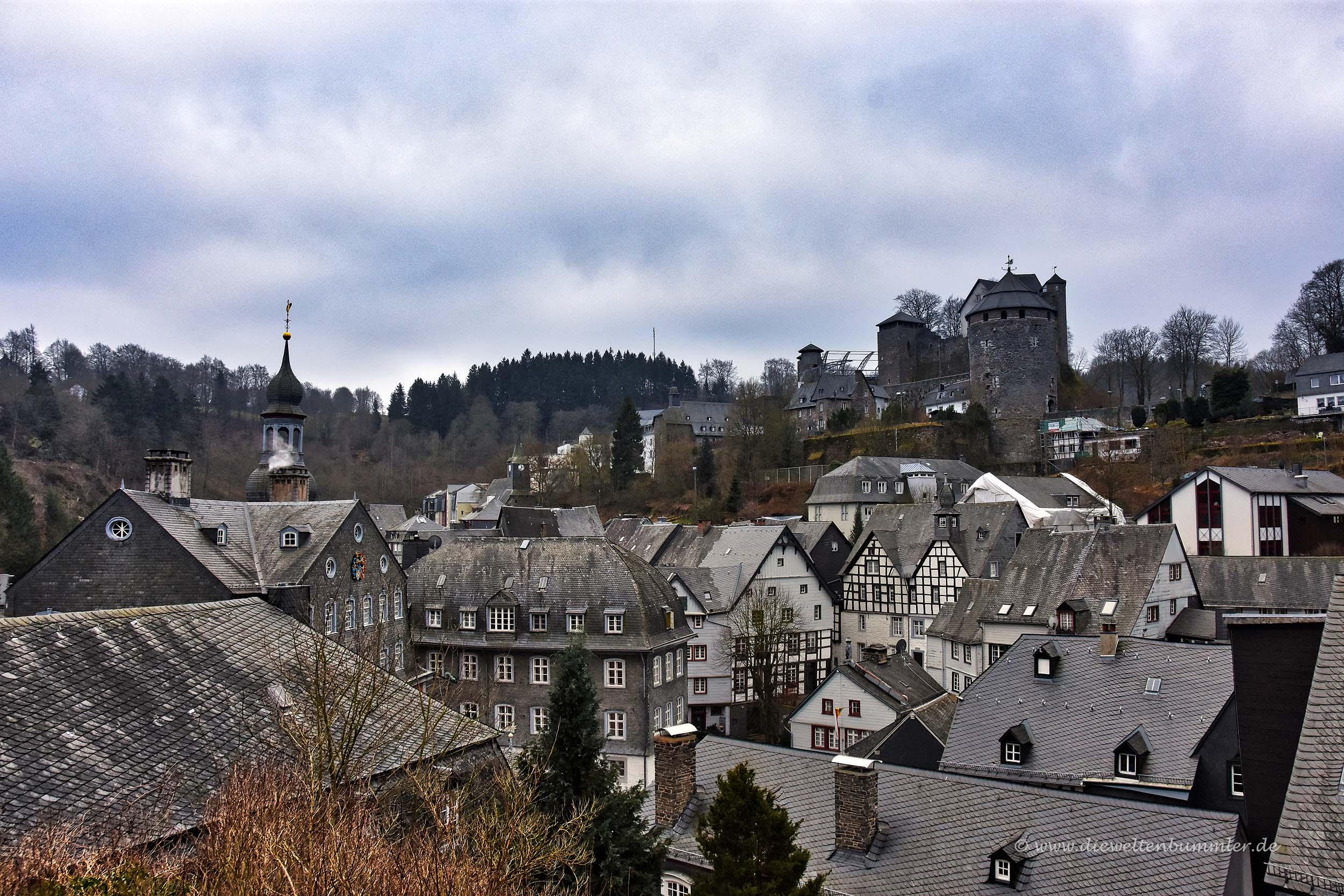 Blick über die Dächer von Monschau