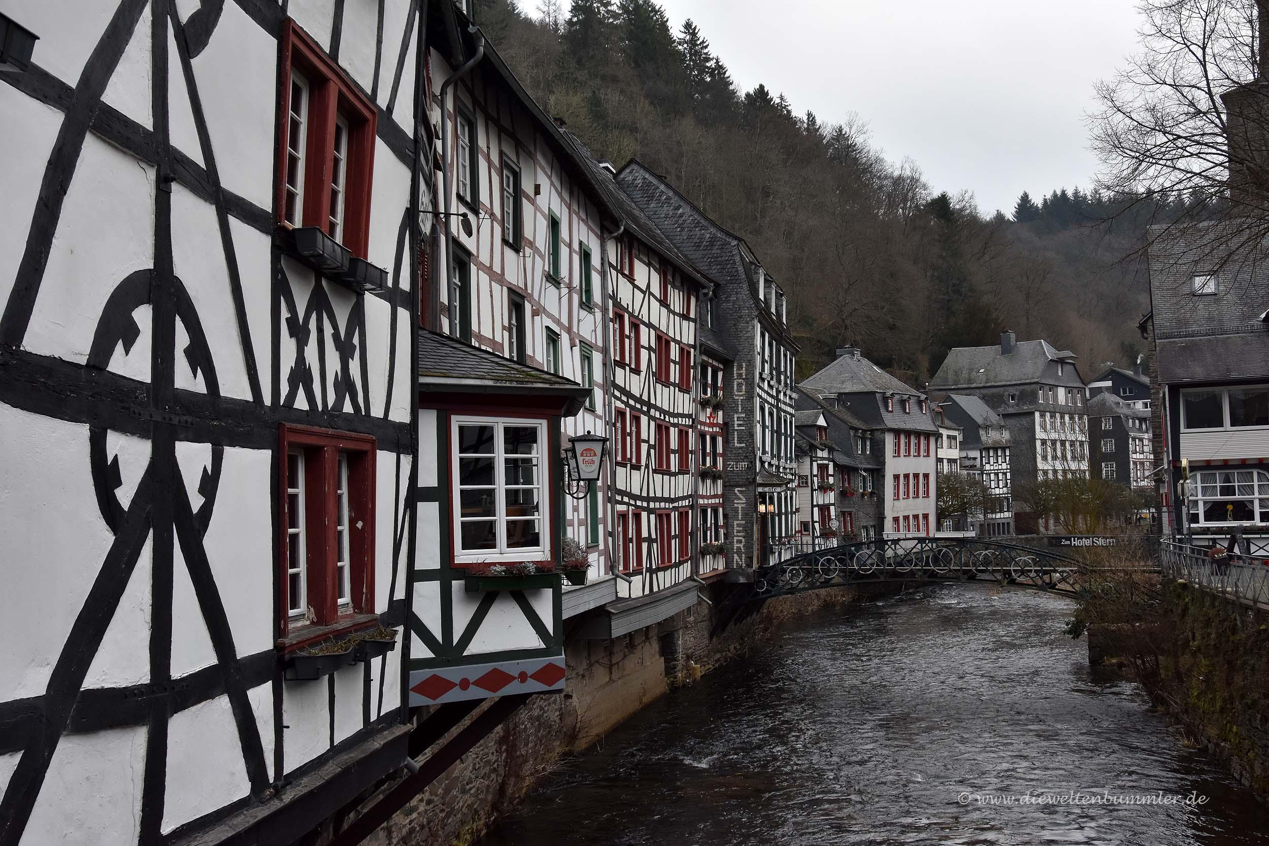 Monschauer Altstadt mit Rur