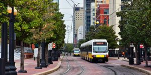 Straßenbahn in Dallas