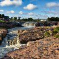 Wasserfälle in Sioux Falls
