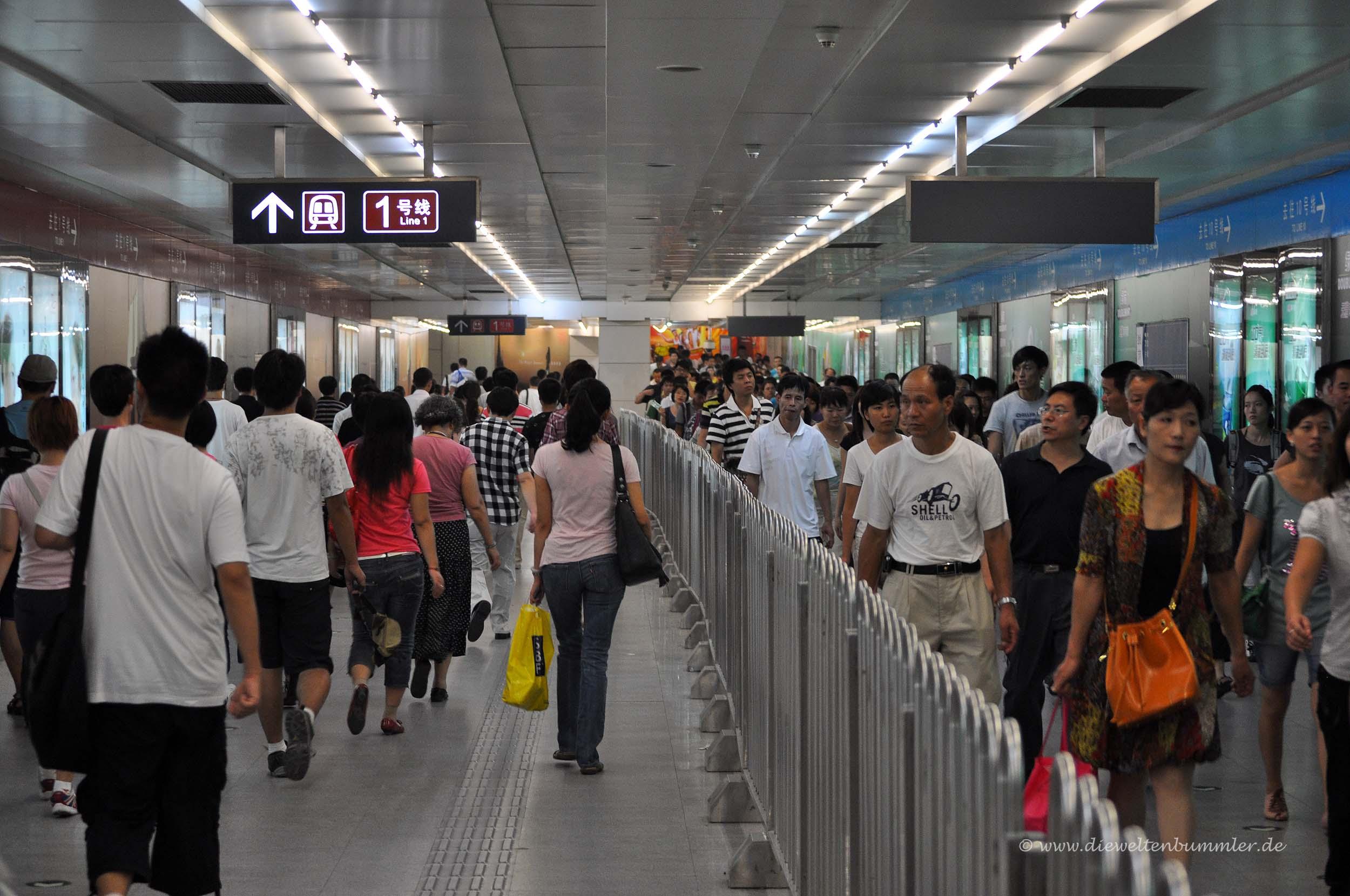 Einbahn-Regelung für Passagiere