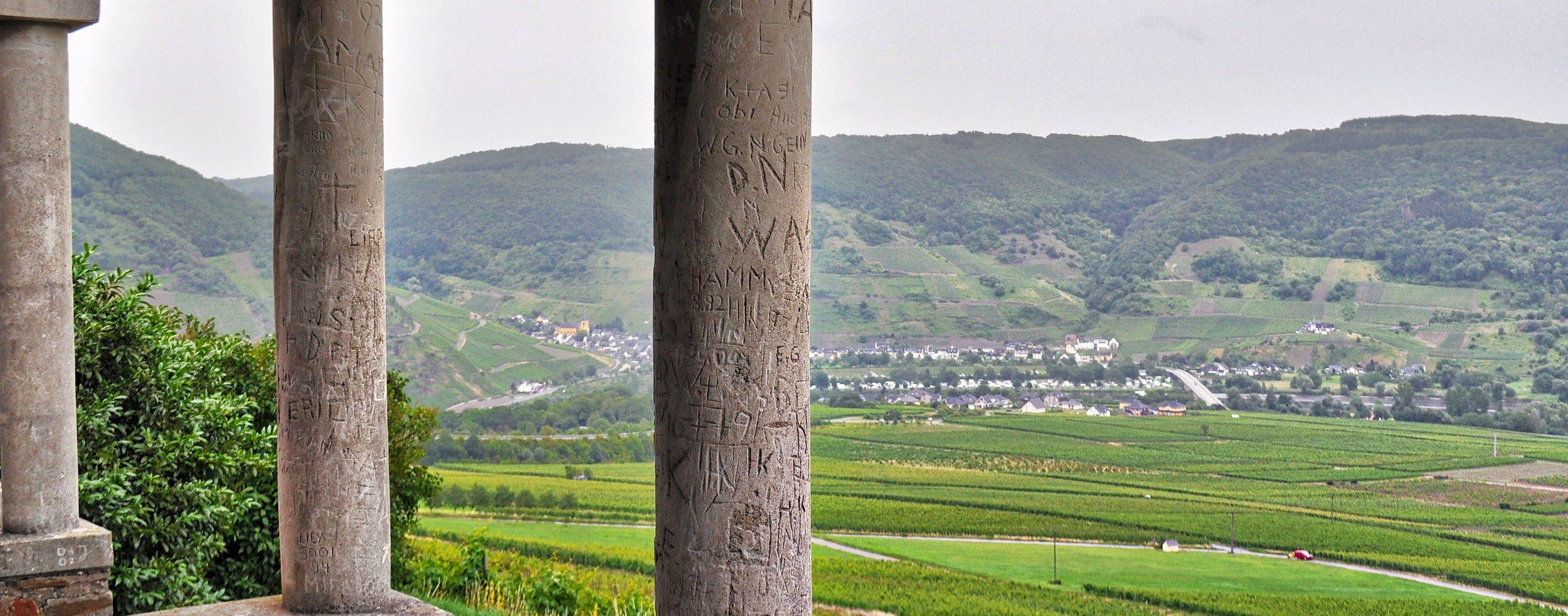 Ausblick von den römischen Gräbern