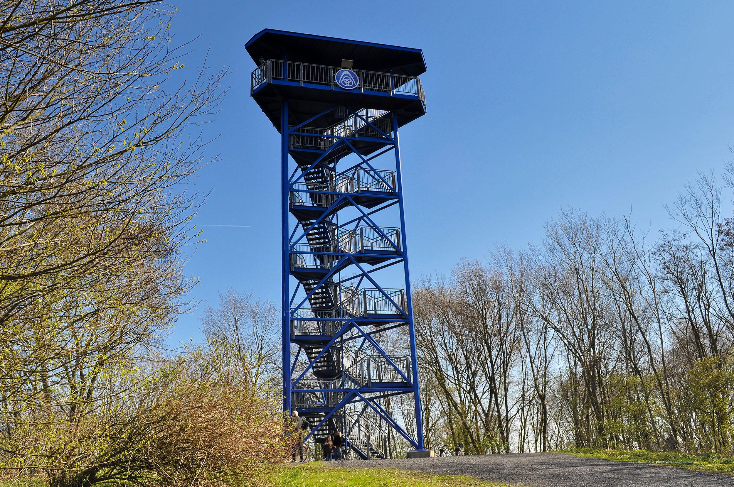 Aussichtsturm auf der Duisburger Seenplatte