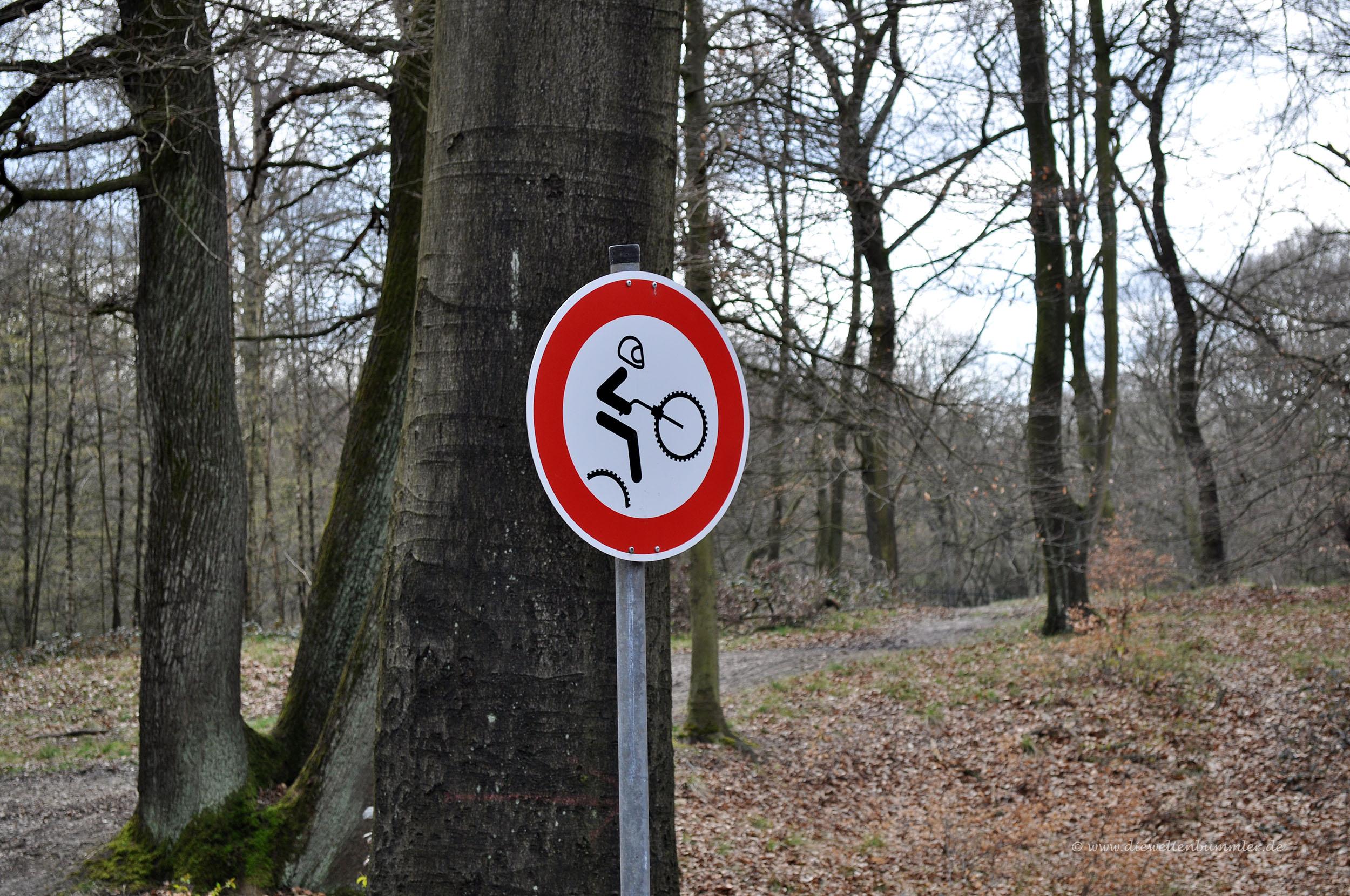 Biken verboten