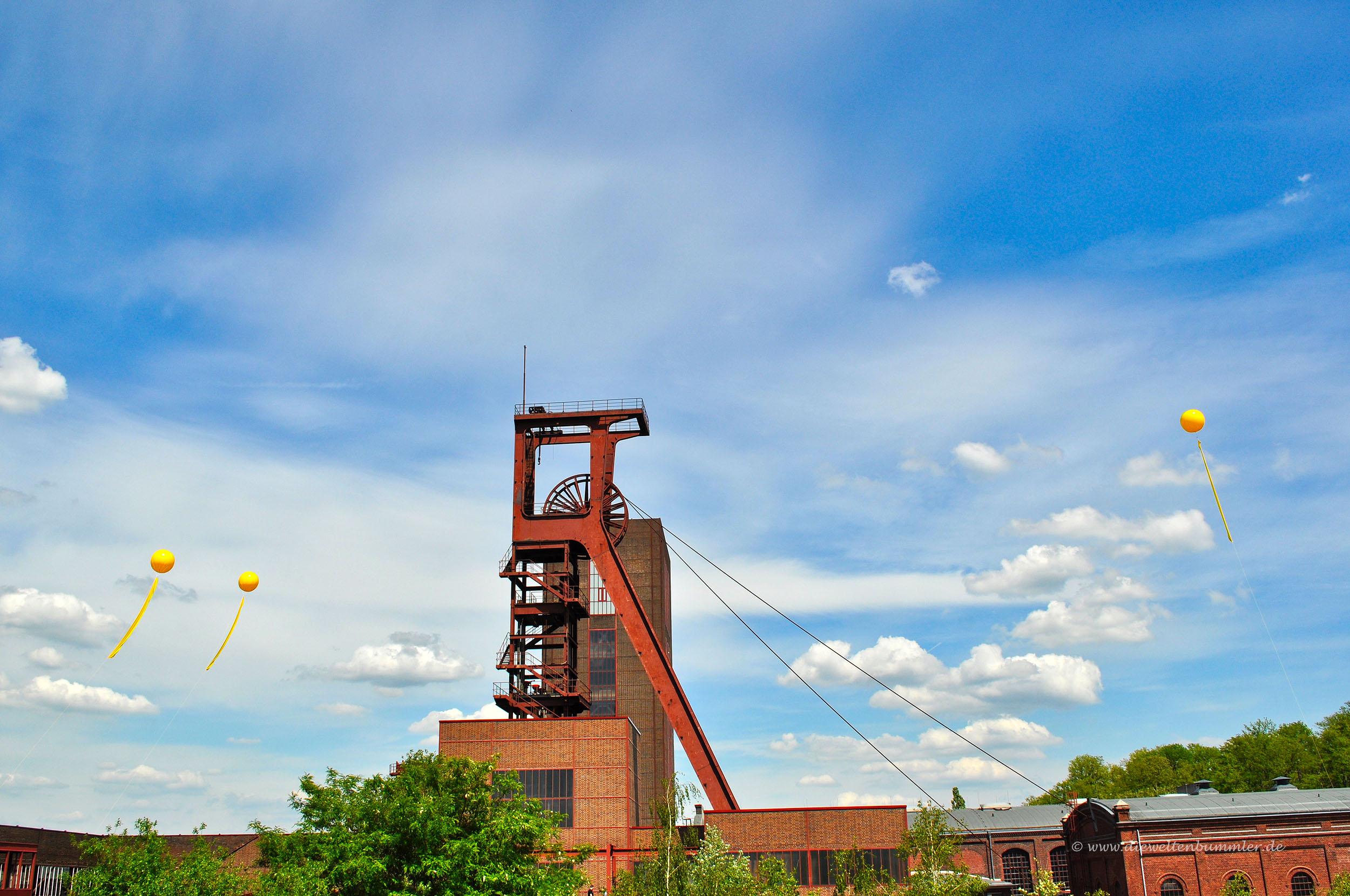 Fördergerüst auf Zollverein