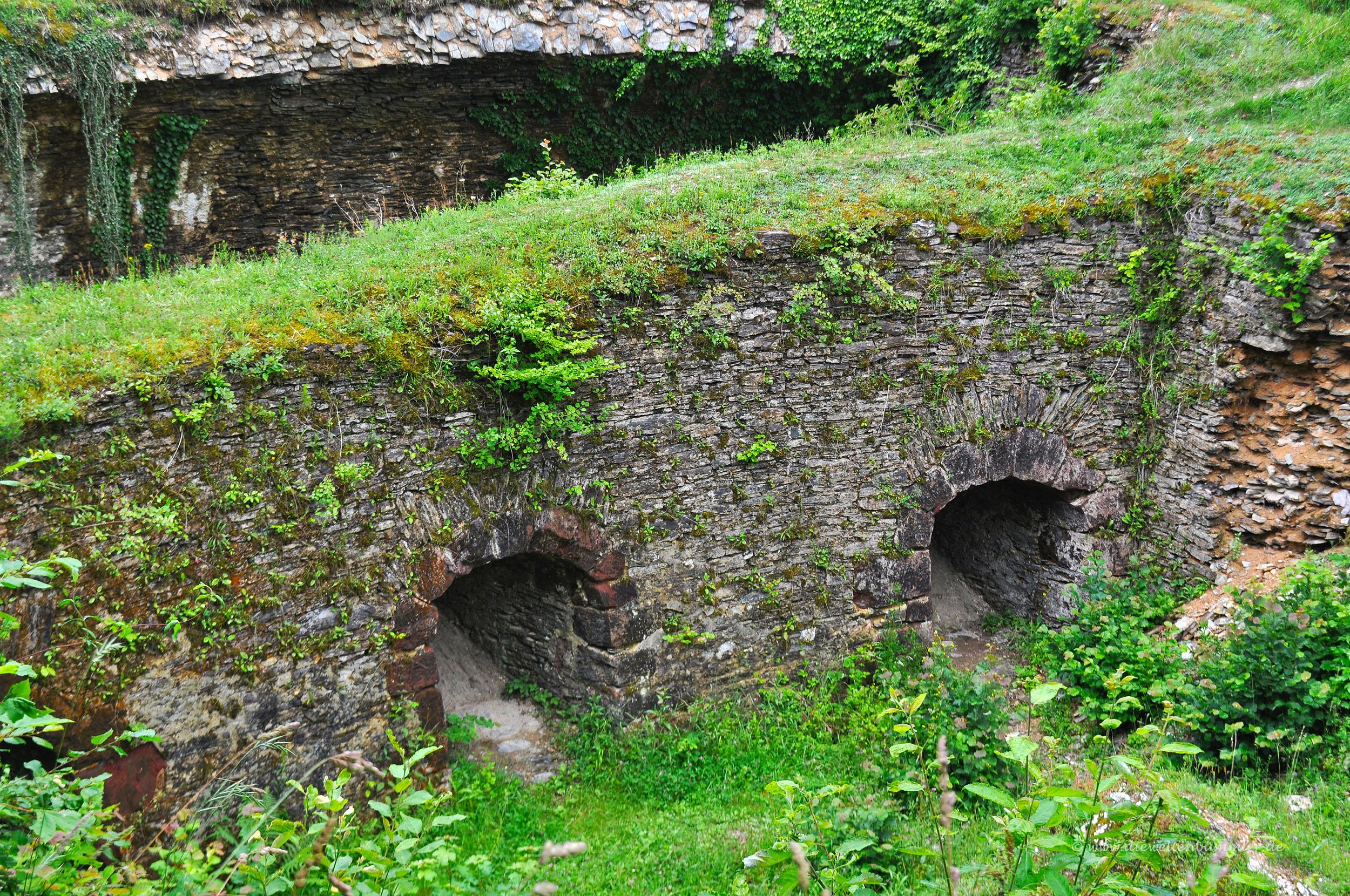 Grundmauern der Festung Mont Royal