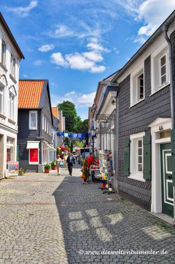 Malerische Altstadt von Essen-Werden