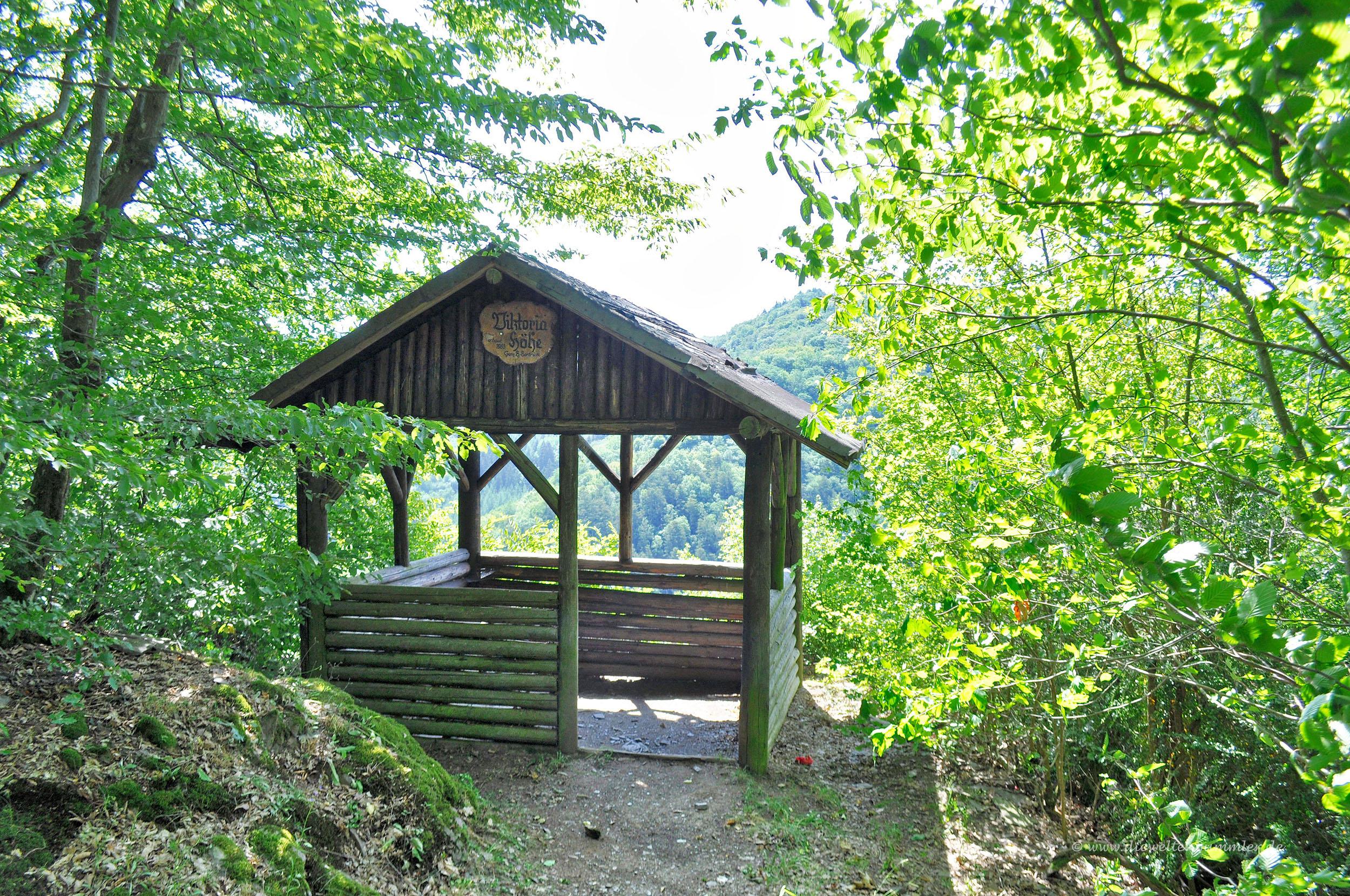 Schutzhütte an der Viktoriahöhe