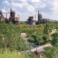 Viel Natur im ehemaligen Hüttenwerk