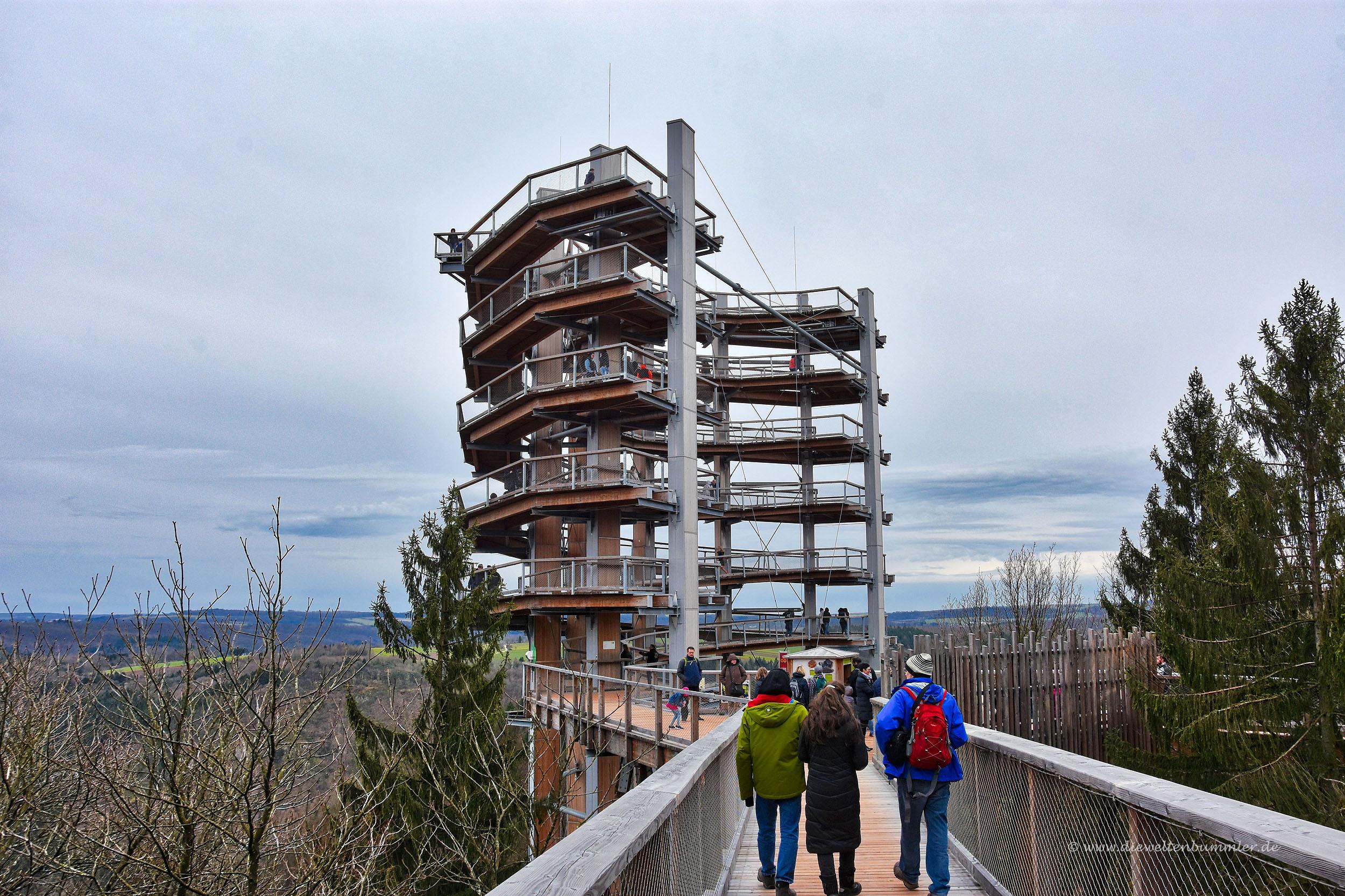 Aussichtsturm an der Saarschleife