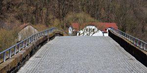 Alte Werra-Brücke in Vacha