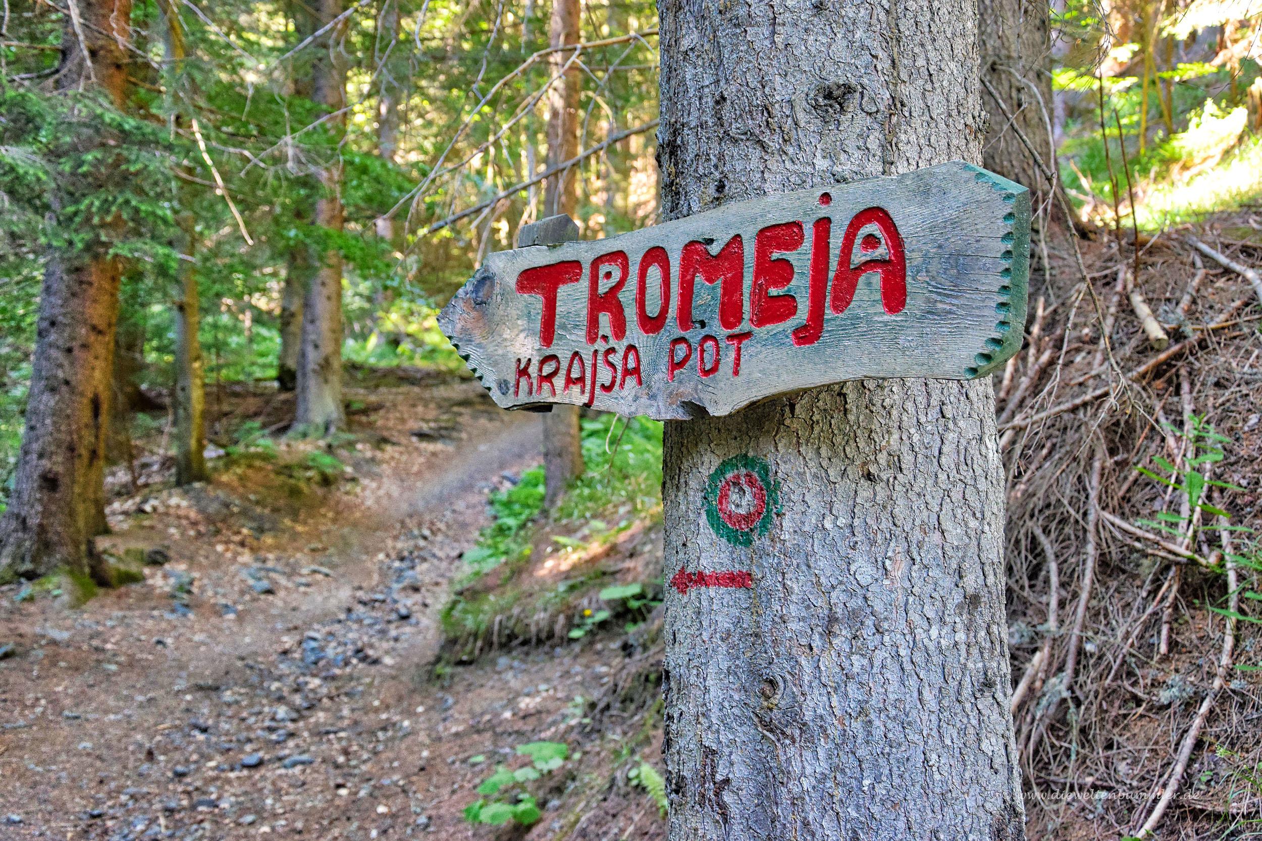 Aufstieg zu Tromeja