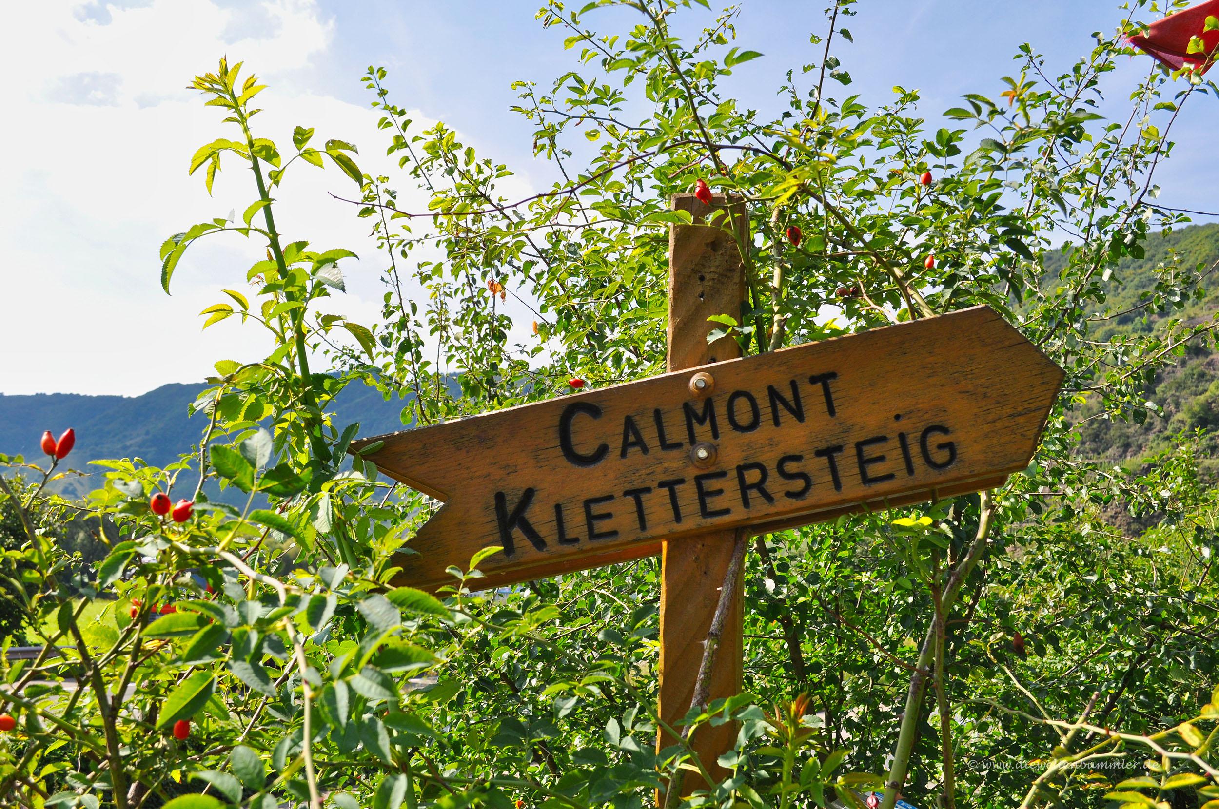 Klettersteig Calmont : Wanderung durch den calmont klettersteig die weltenbummler
