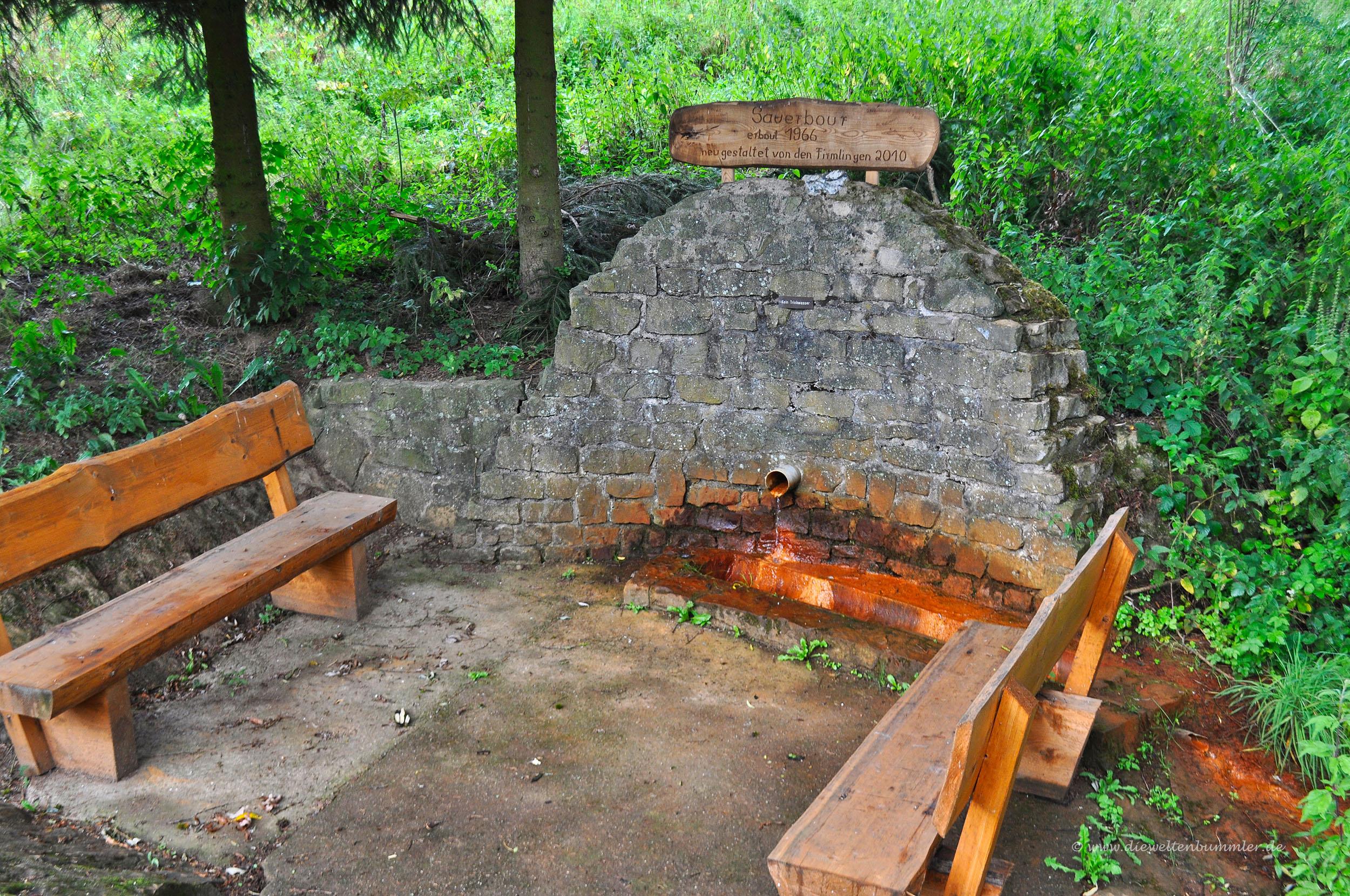 Brunnen bei Mehring