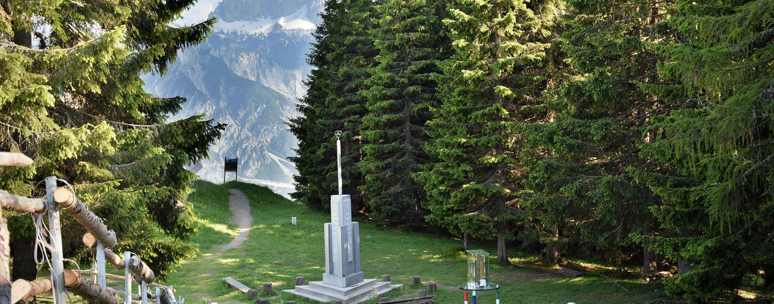 Dreiländereck auf dem Arnoldstein