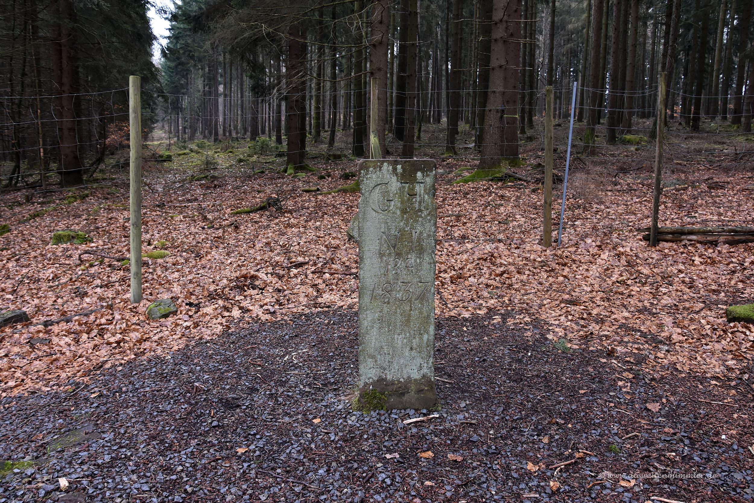 Dreiländereck in Hessen