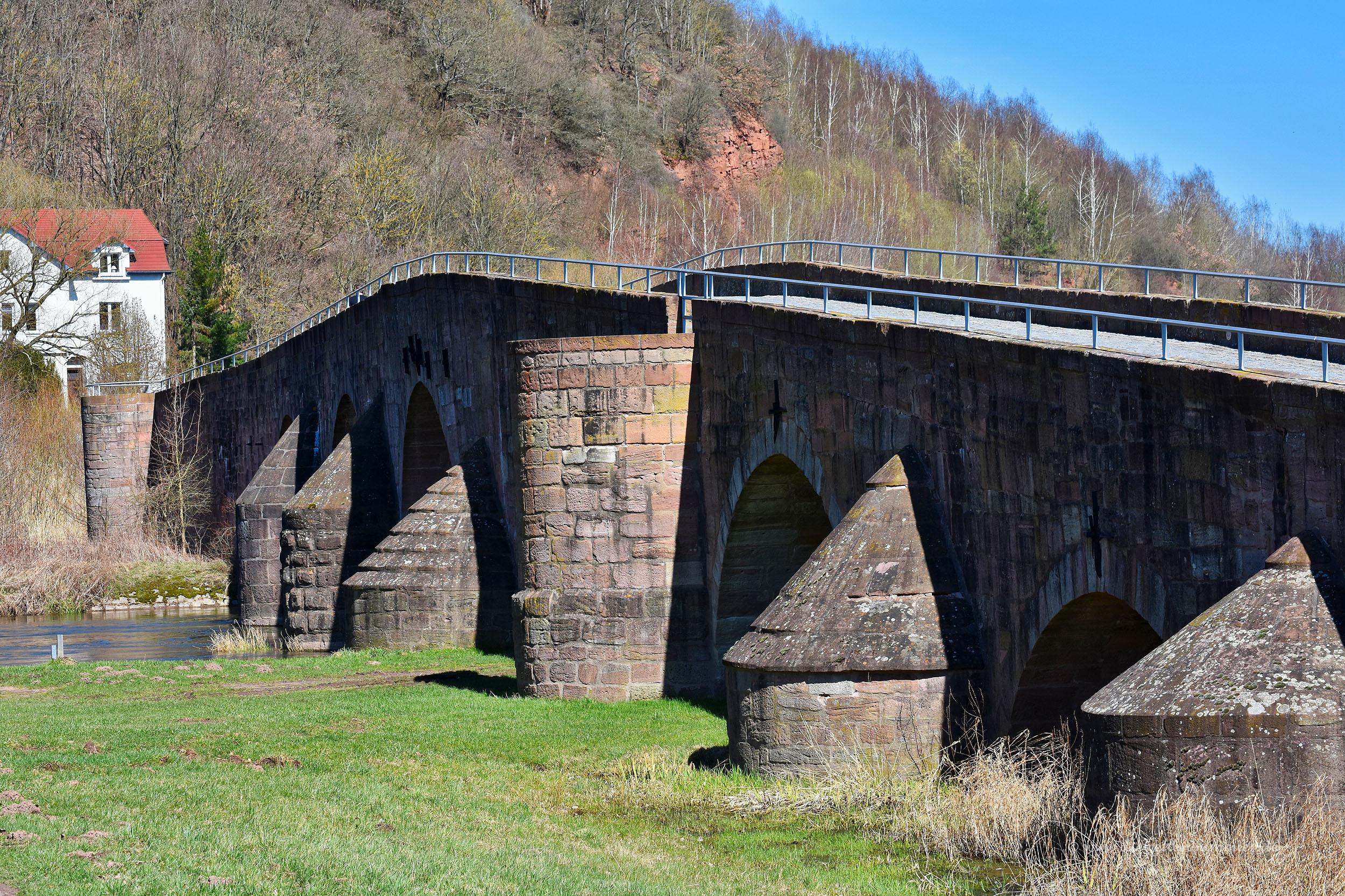 Grenzbrücke in Vacha