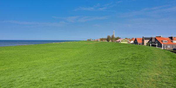 Hindeloopen am IJsselmeer