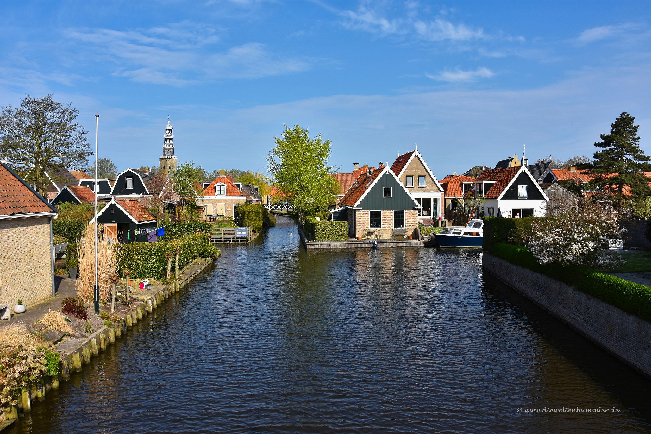 Kanal in Hindeloopen