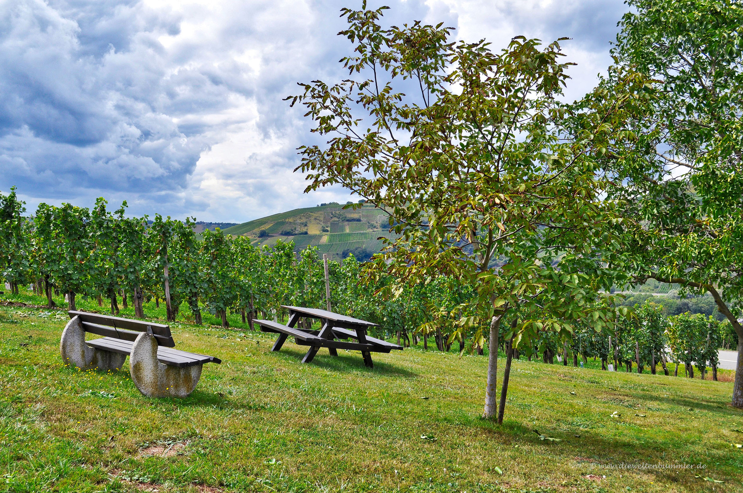 Picknickplatz am Wegesrand