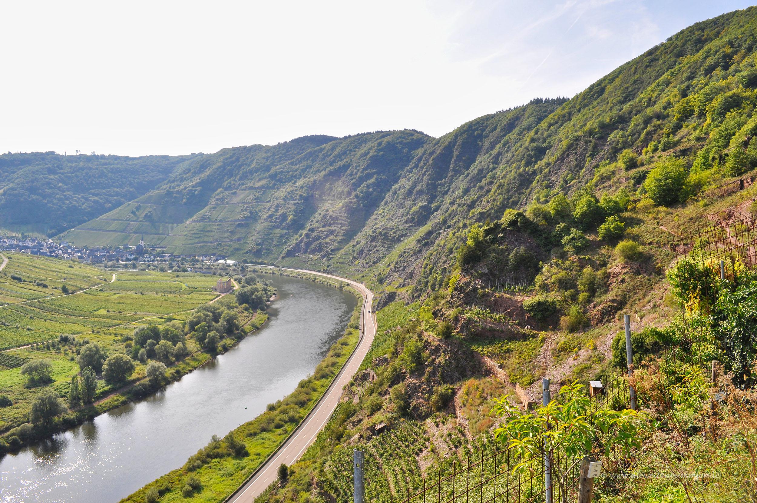 Calmont Klettersteig Unfälle : Wanderung durch den calmont klettersteig die weltenbummler