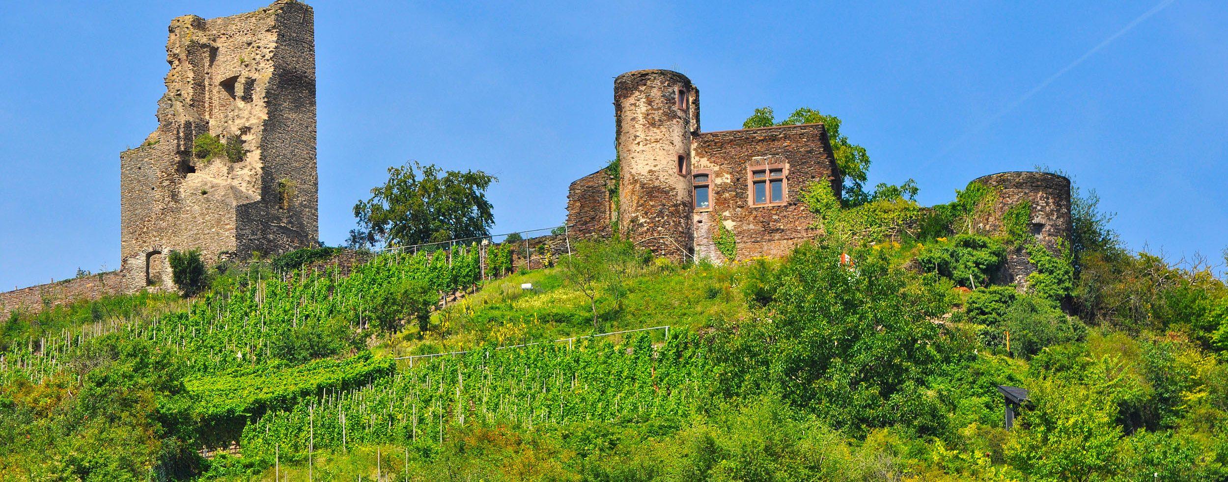Ruine der Burg Coraidelstein