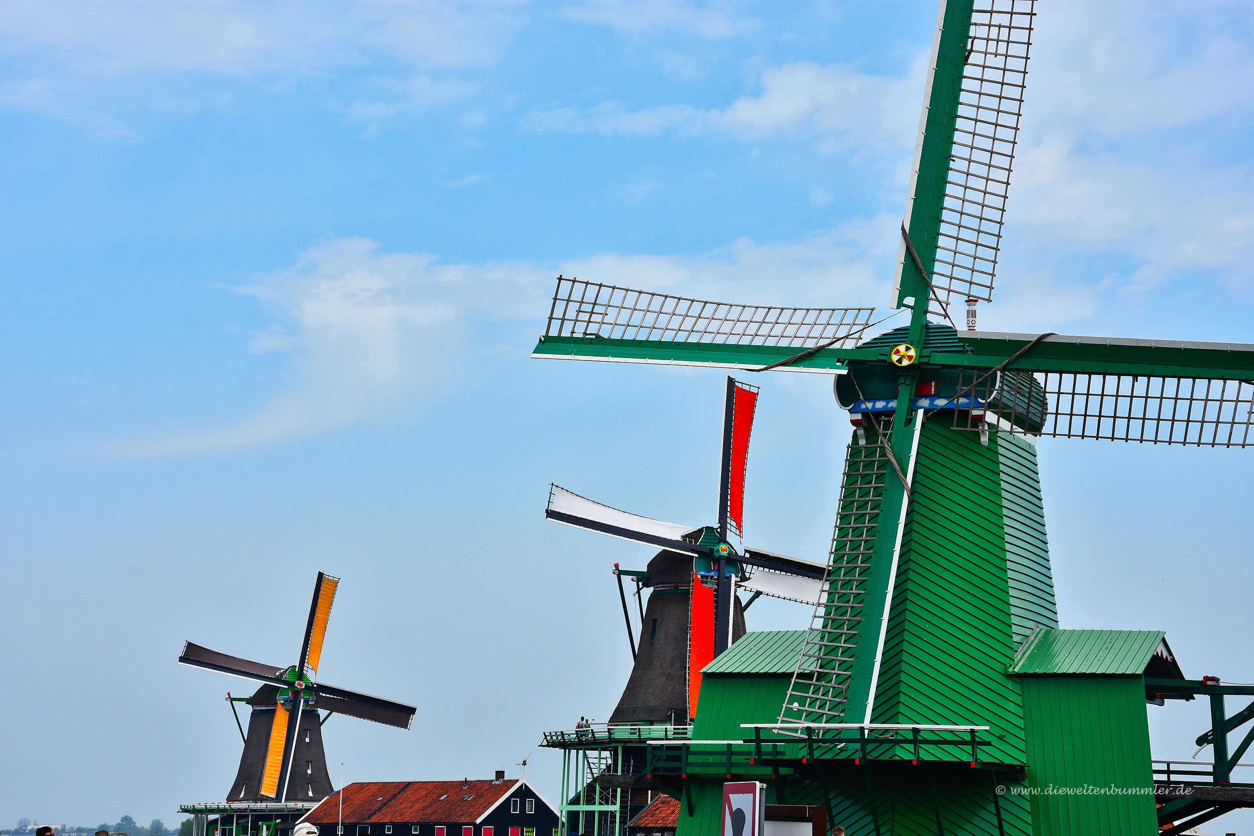 Windmühlen in Zaanse Schas