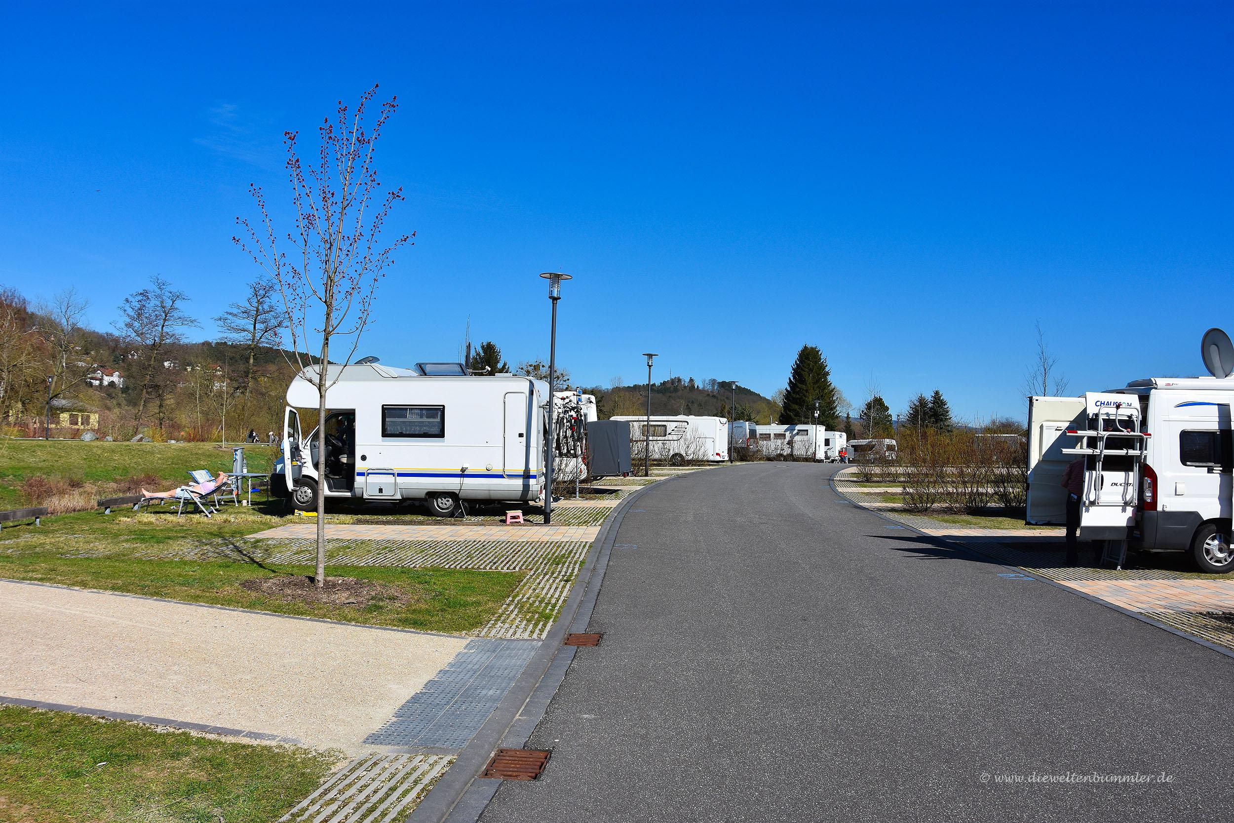 Wohnmobilstellplatz in Bad Salzungen