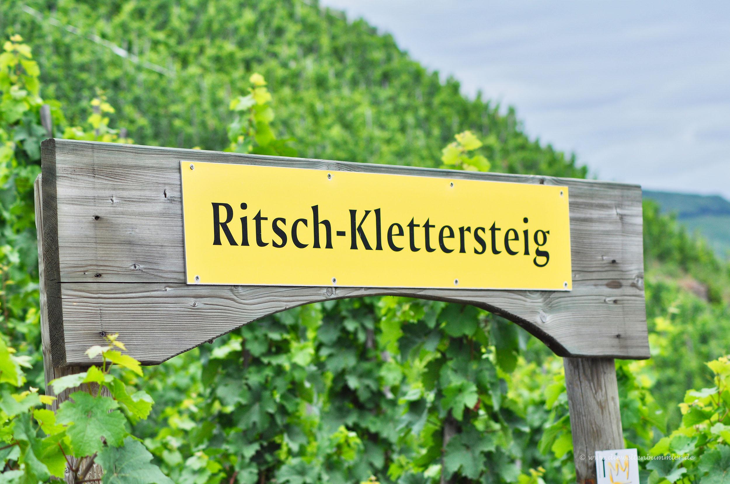 Zugang zum Ritsch-Klettersteig