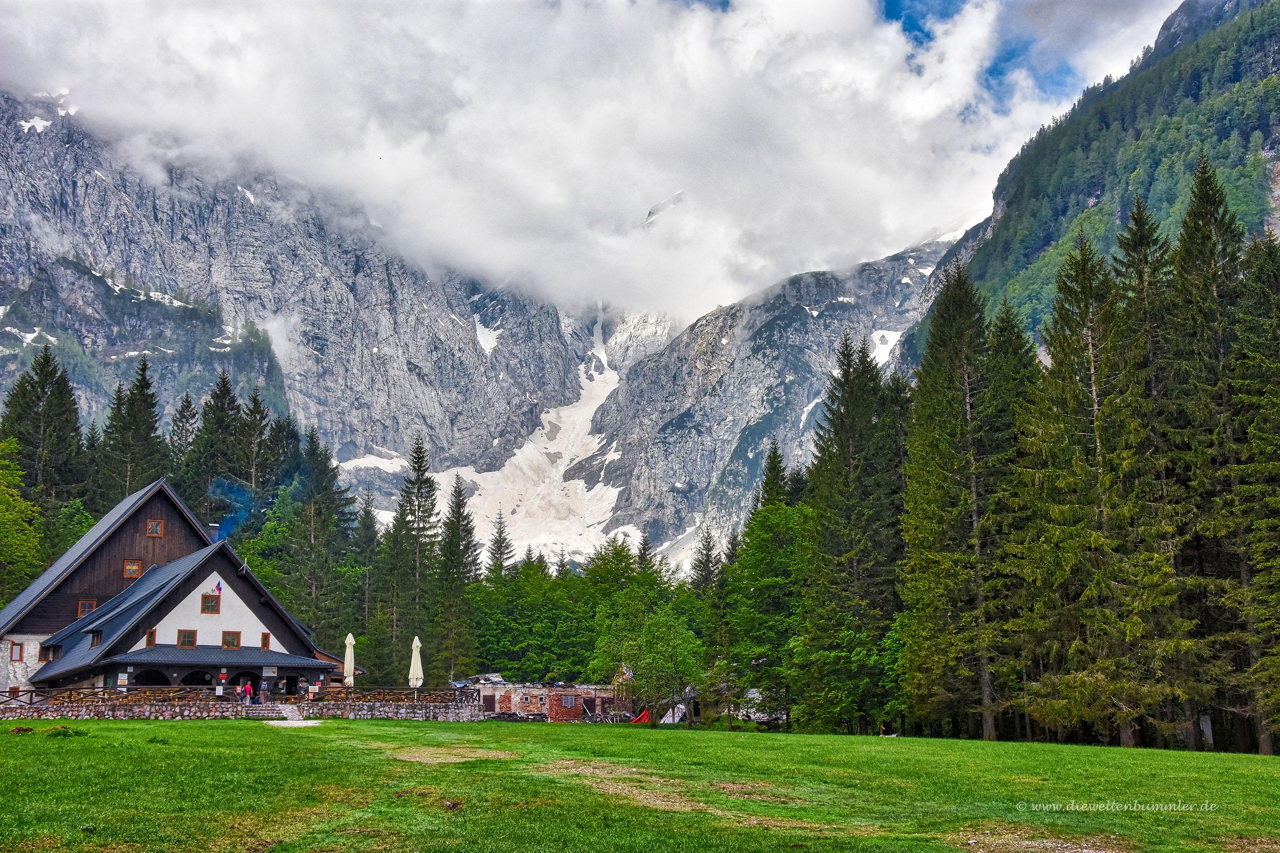 Berghütte in Tamar